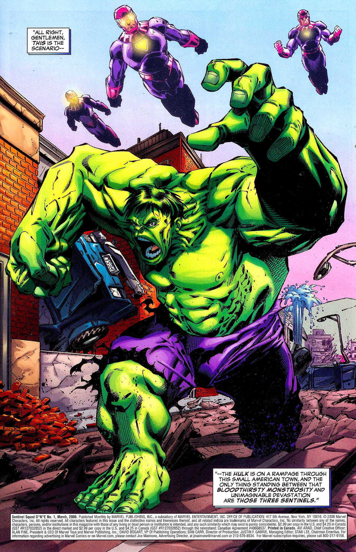 Read online Sentinel Squad O*N*E comic -  Issue #1 - 2