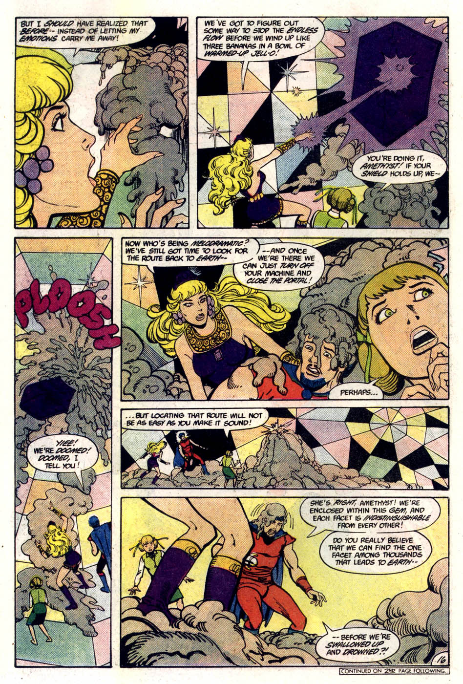 Read online Amethyst (1985) comic -  Issue #5 - 17