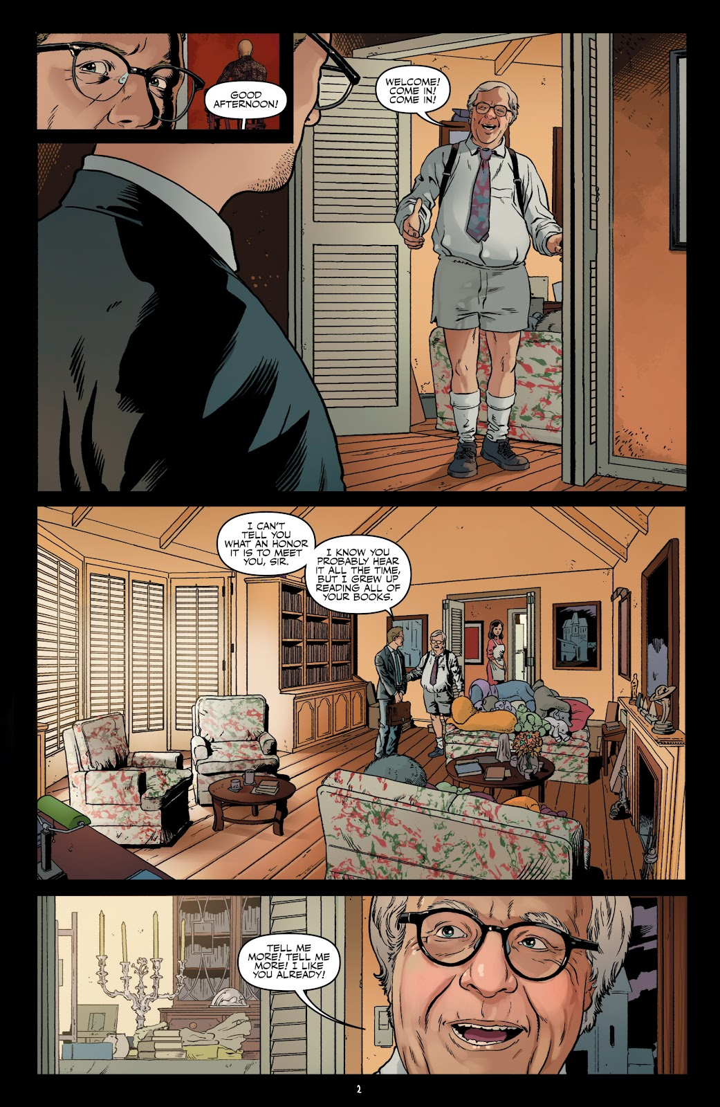 Read online Shadow Show: Stories in Celebration of Ray Bradbury comic -  Issue #3 - 4