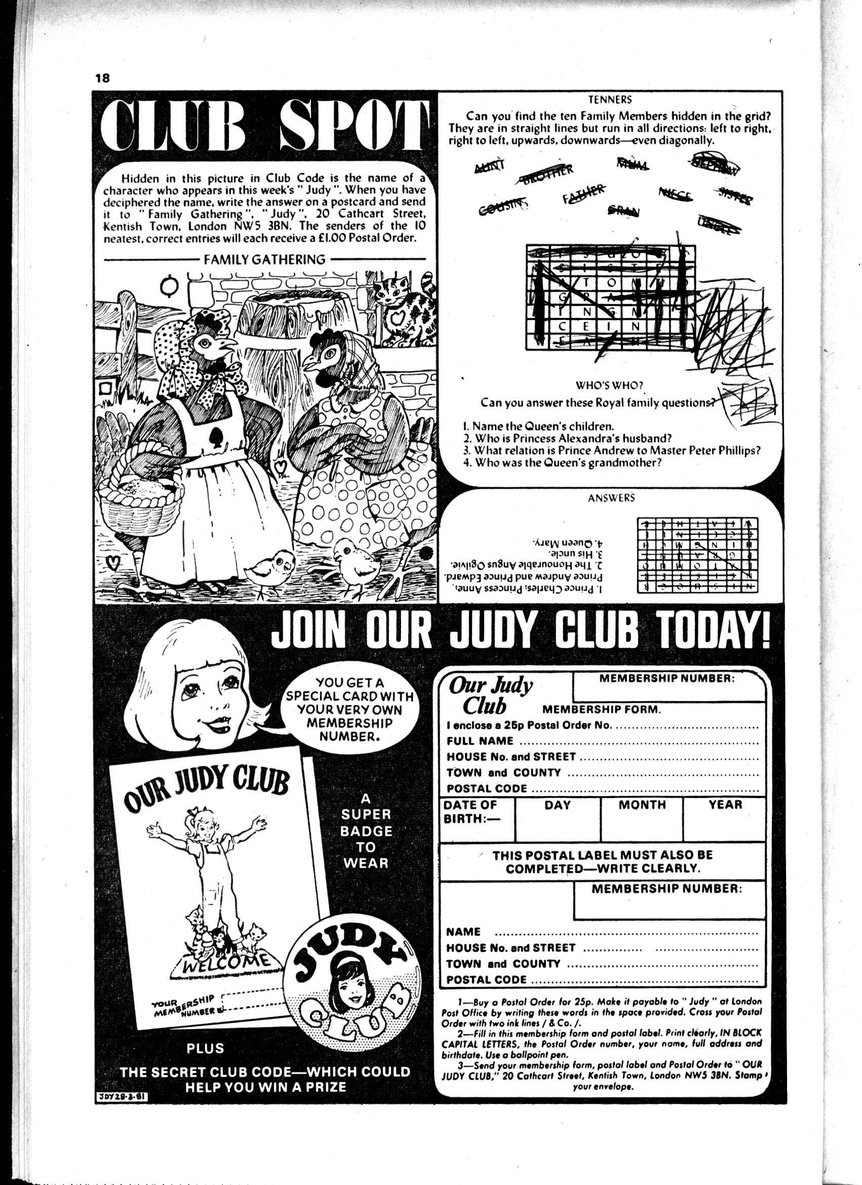 Read online Judy comic -  Issue #1107 - 18