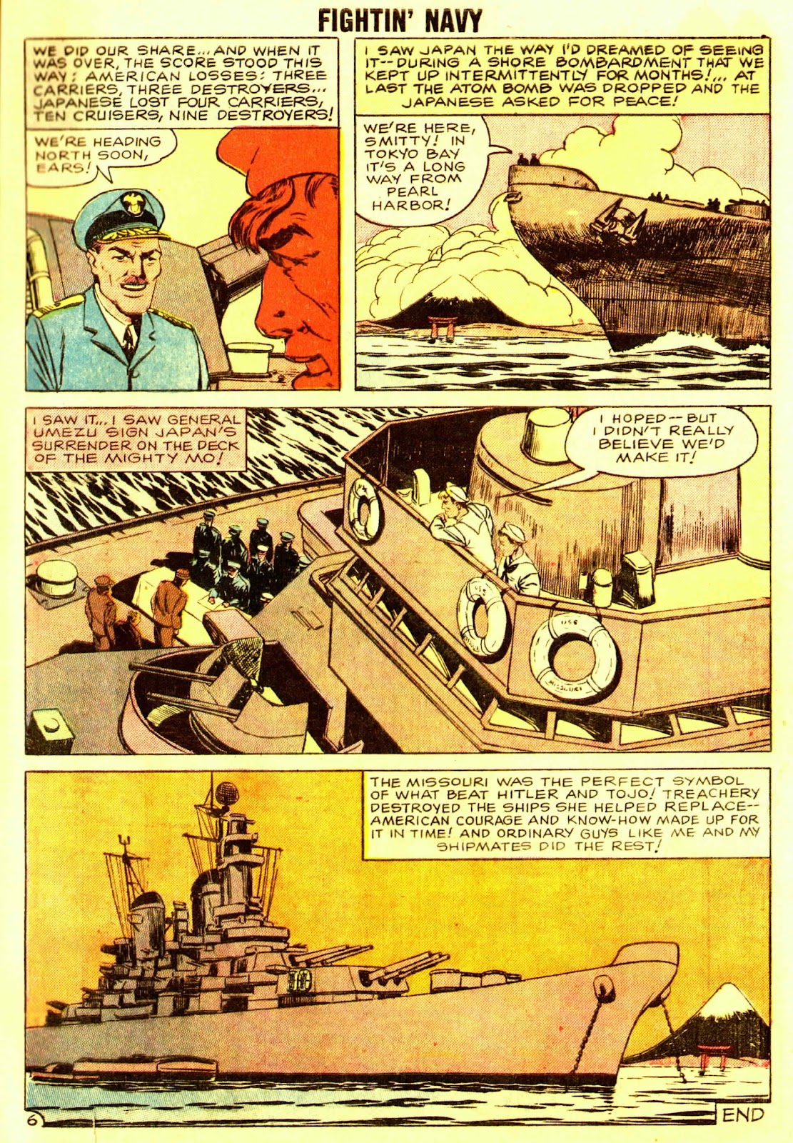 Read online Fightin' Navy comic -  Issue #83 - 65