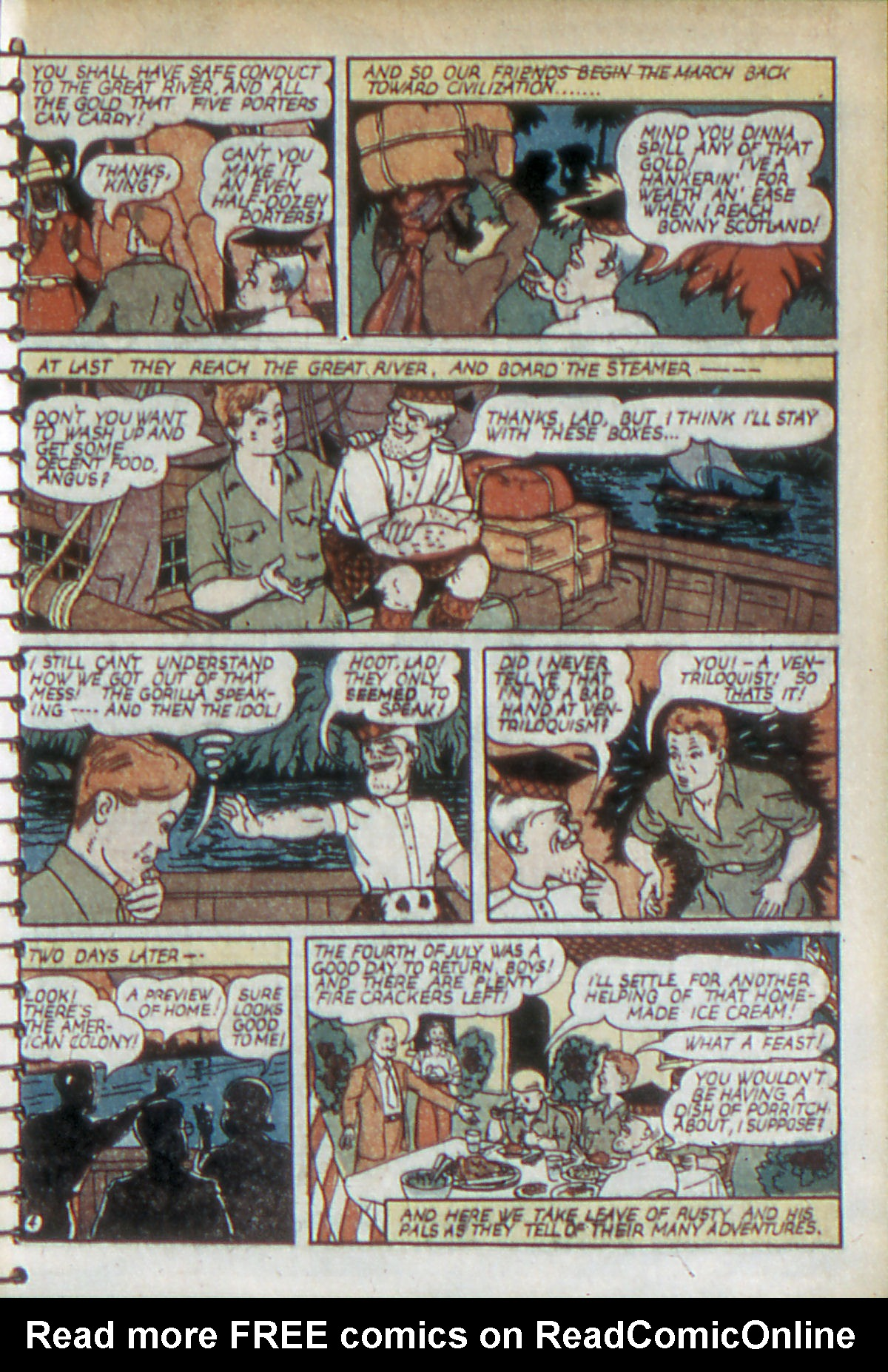 Read online Adventure Comics (1938) comic -  Issue #52 - 18