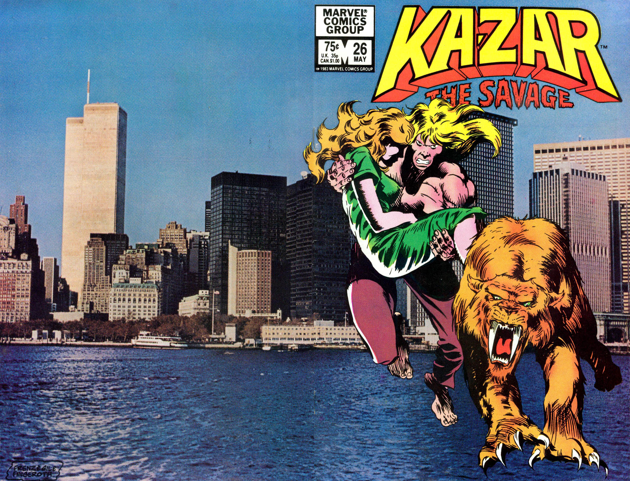 Ka-Zar the Savage 26 Page 1