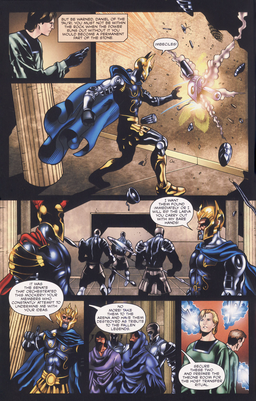 Read online Stargate SG-1: Fall of Rome comic -  Issue #3 - 14