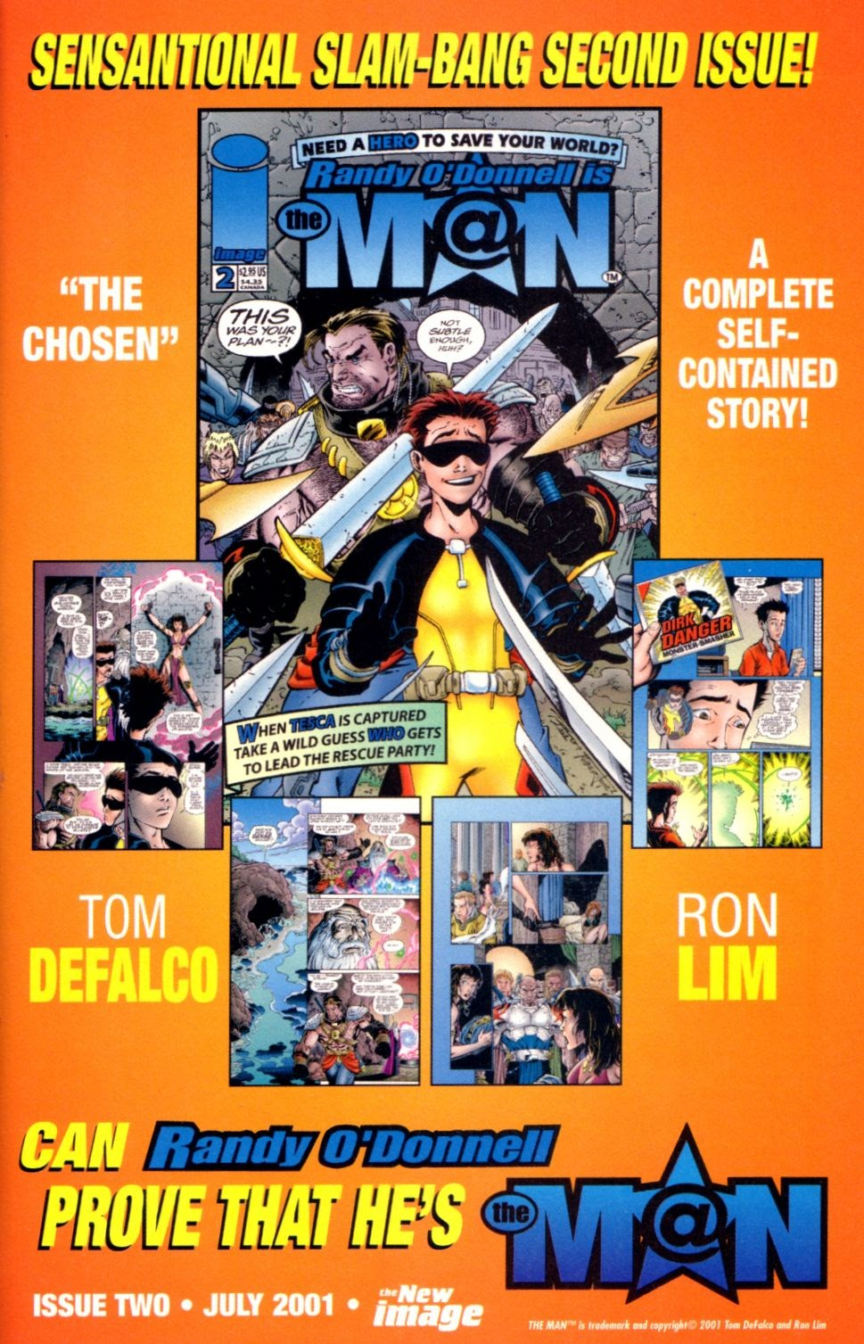 Read online Randy O'Donnell is The M@N comic -  Issue #1 - 25