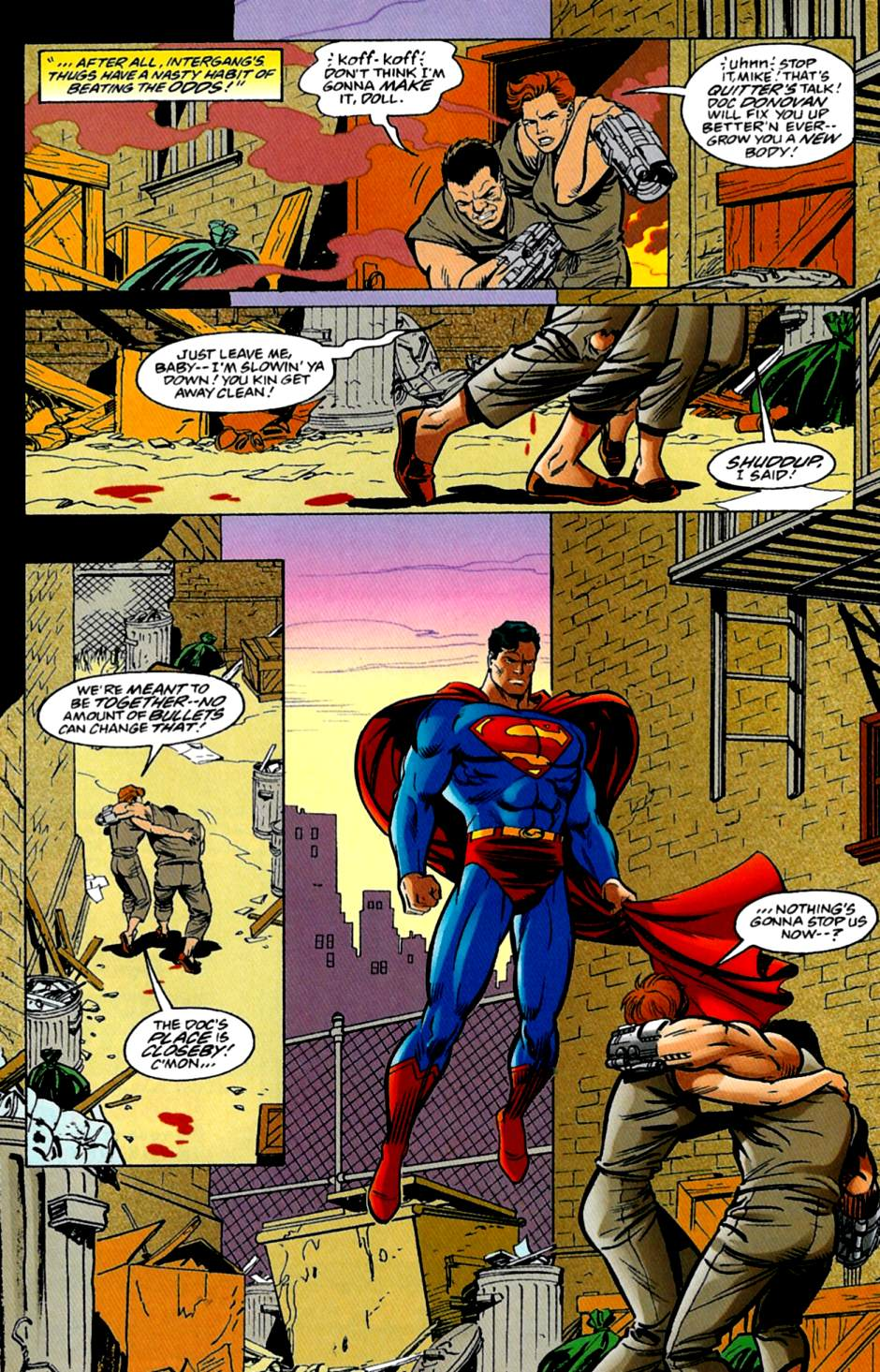 Read online Adventures of Superman (1987) comic -  Issue #562 - 15