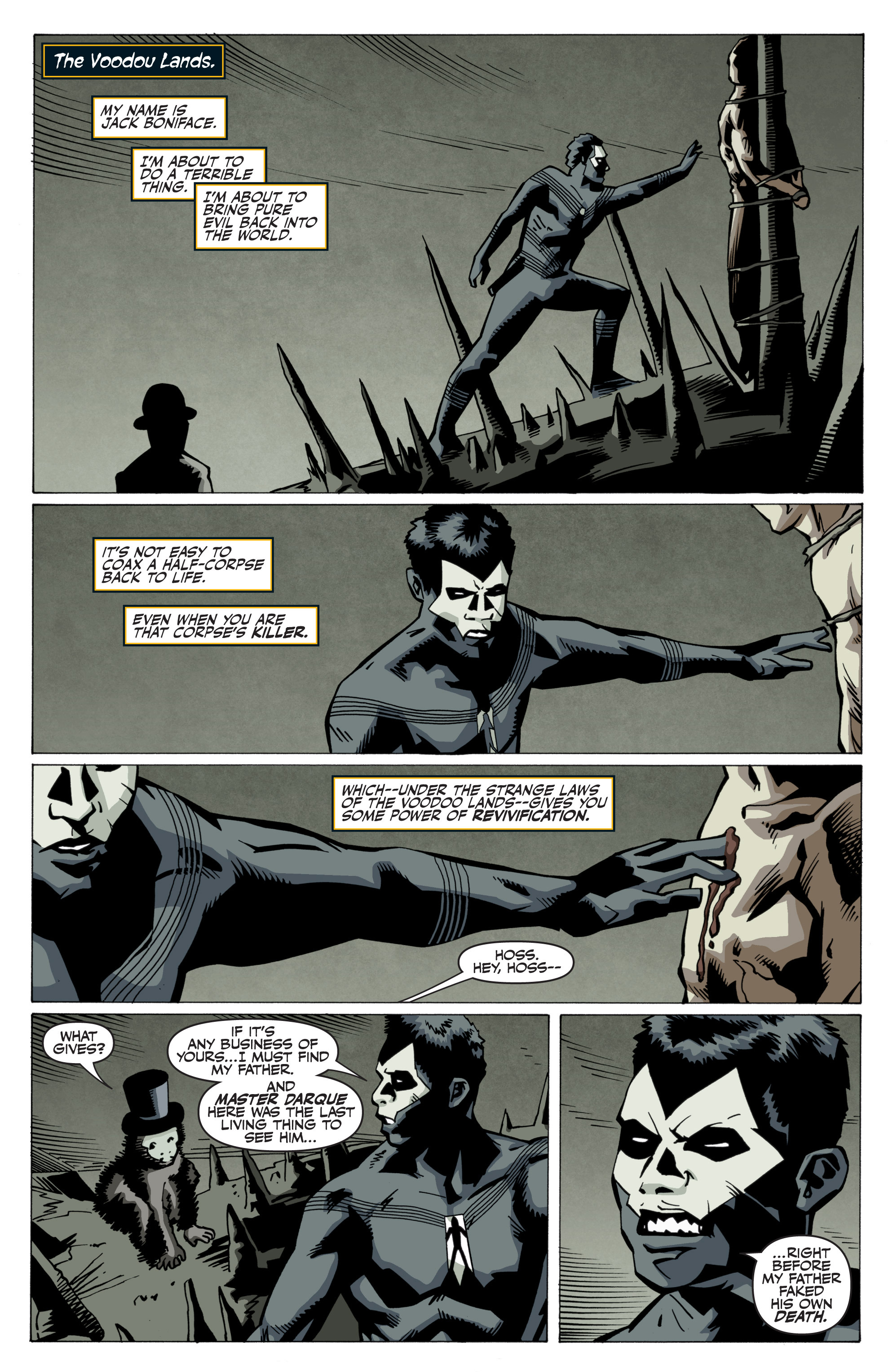 Read online Shadowman: End Times comic -  Issue #3 - 3