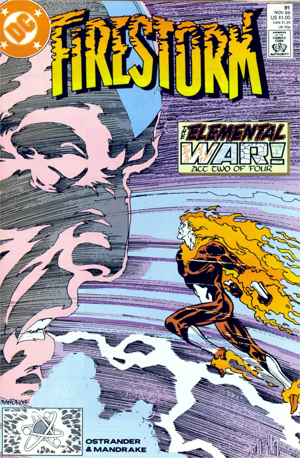 Firestorm, the Nuclear Man 91 Page 1