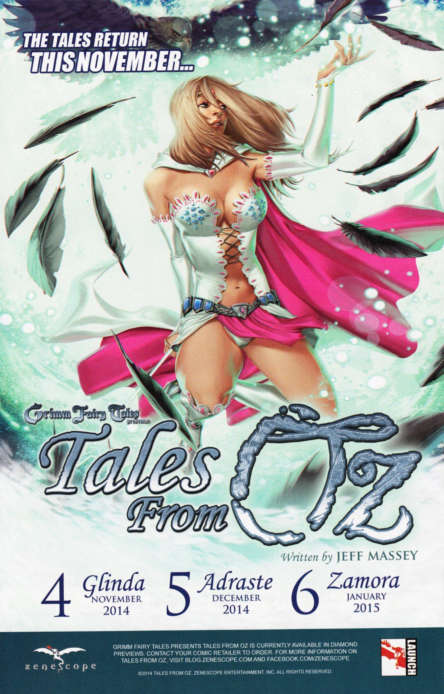 Read online Grimm Fairy Tales vs. Wonderland comic -  Issue #4 - 29