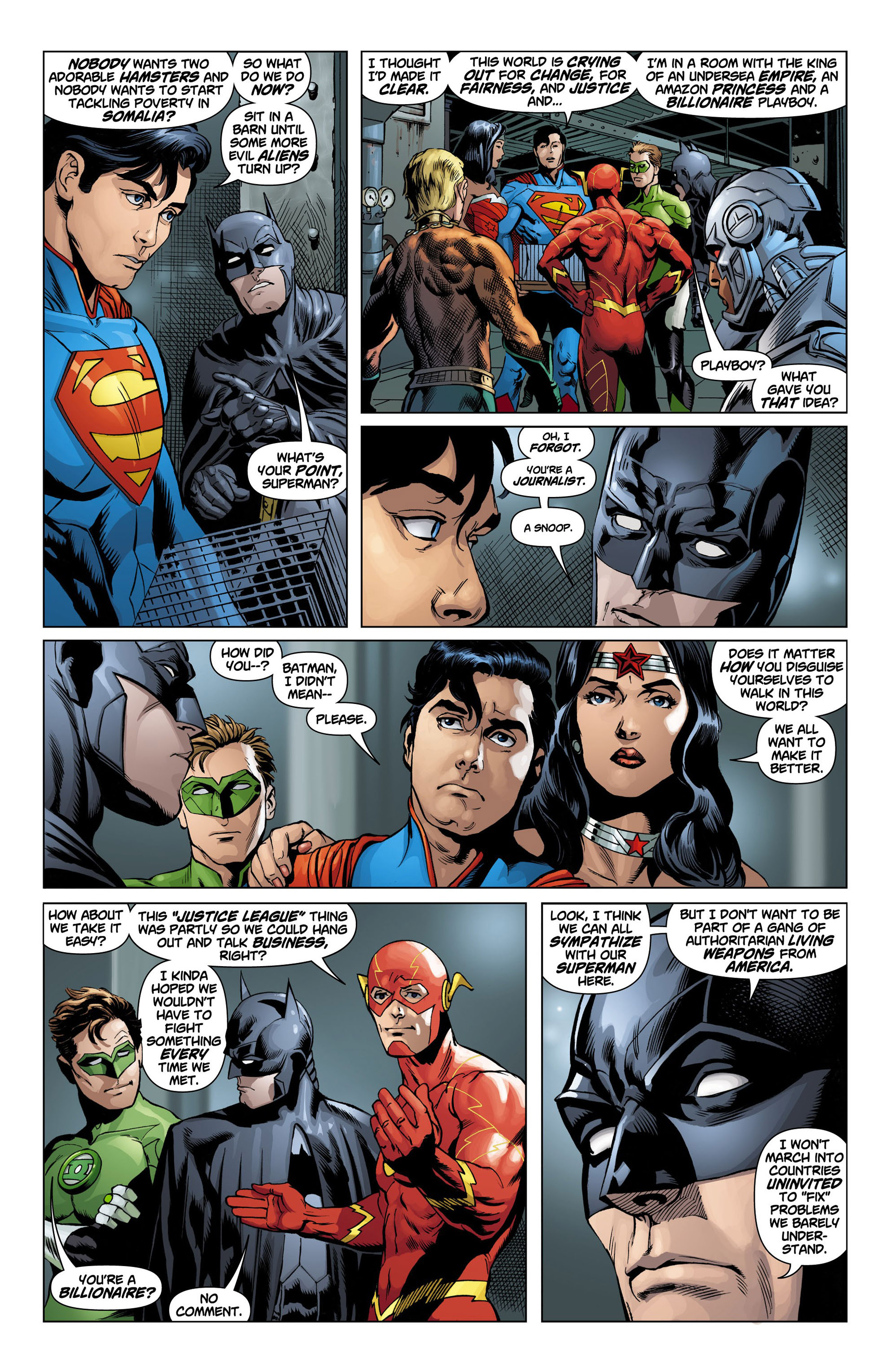Read online Action Comics (2011) comic -  Issue #10 - 8