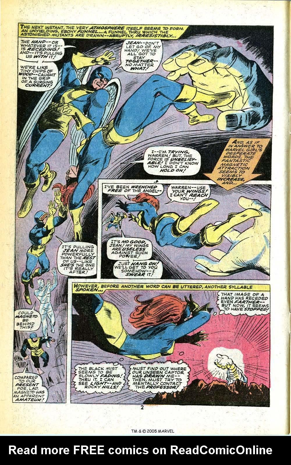 Read online Uncanny X-Men (1963) comic -  Issue #78 - 4
