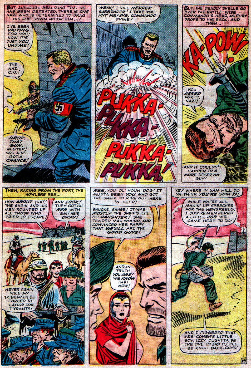 Read online Sgt. Fury comic -  Issue #16 - 27