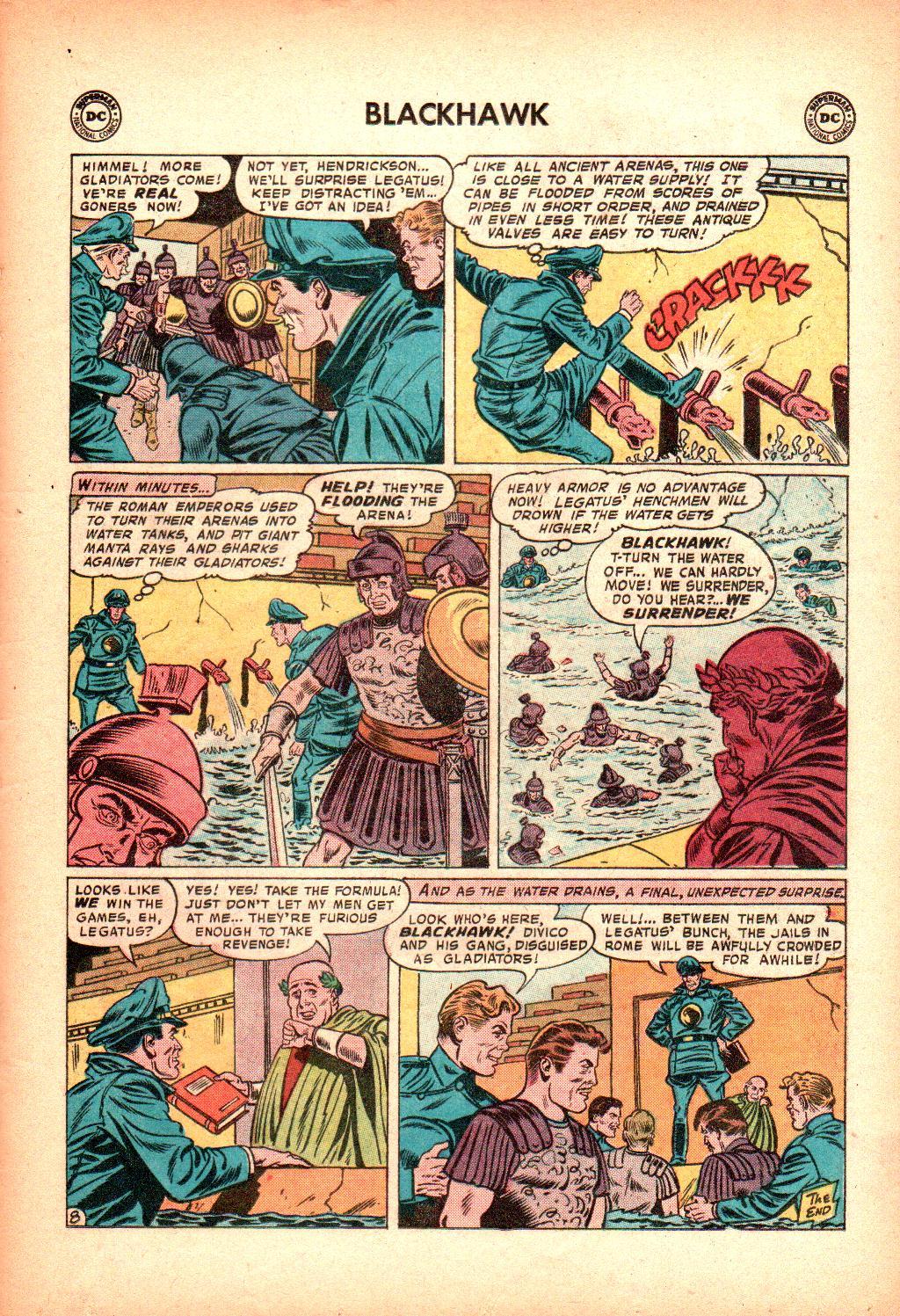 Blackhawk (1957) Issue #128 #21 - English 21