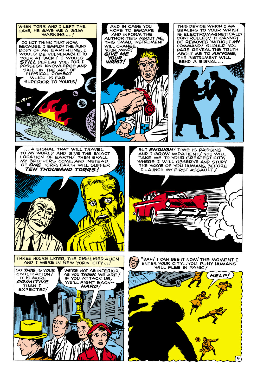 Read online Amazing Adventures (1961) comic -  Issue #1 - 11