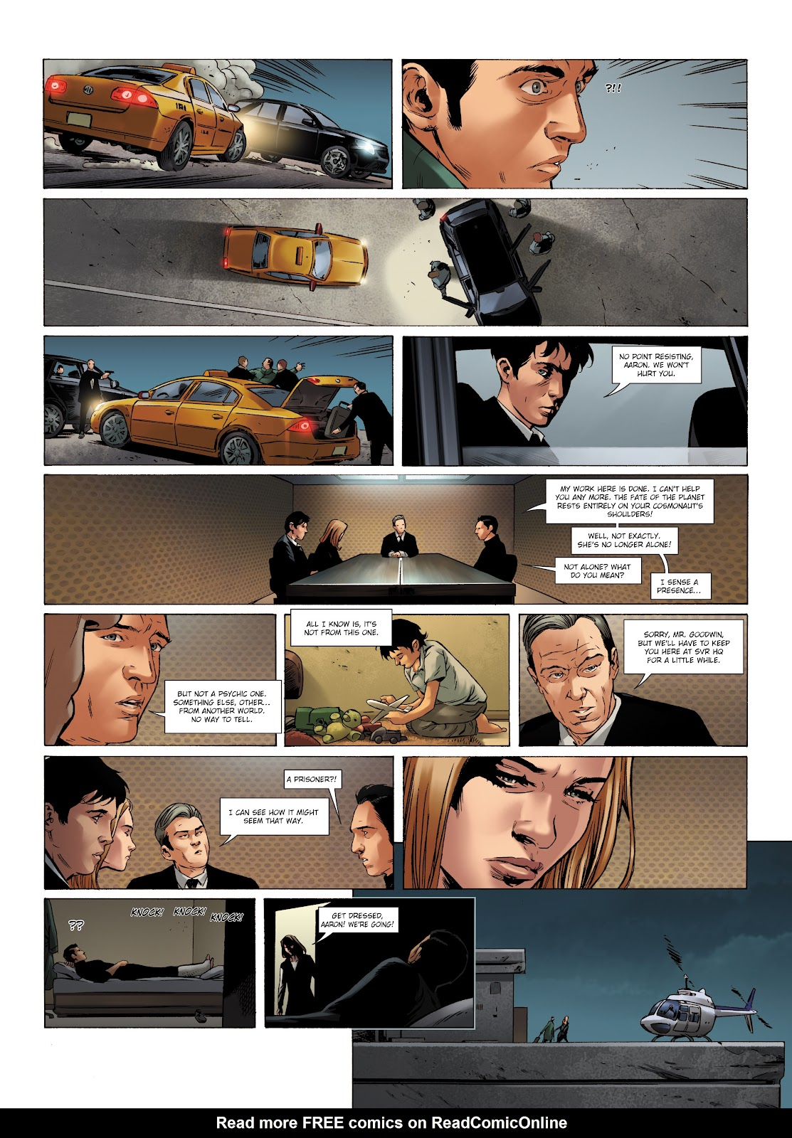 Read online Olympus Mons Vol. 1: Anomaly One comic -  Issue #5 - 21