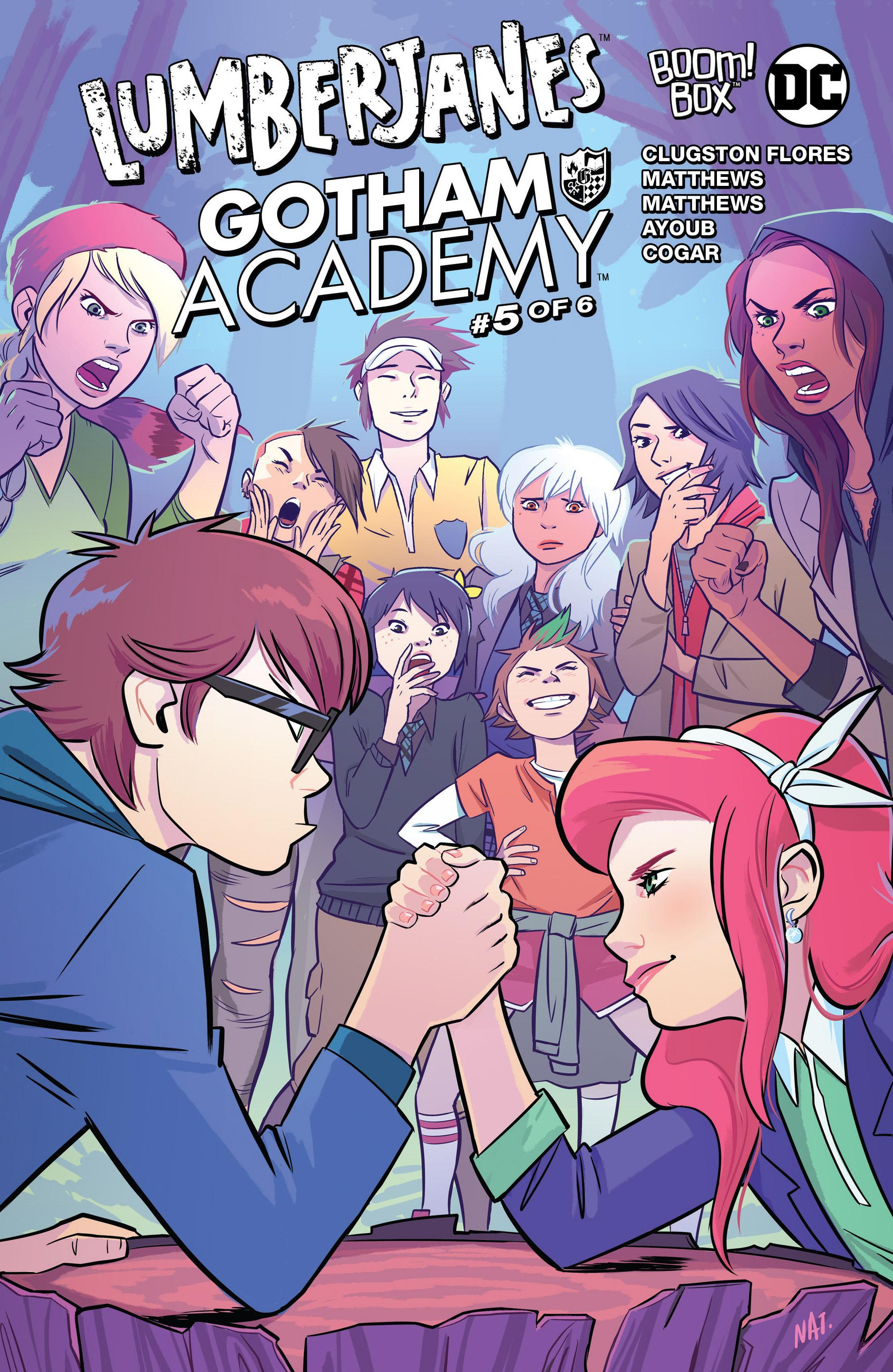 Lumberjanes/Gotham Academy 5 Page 1