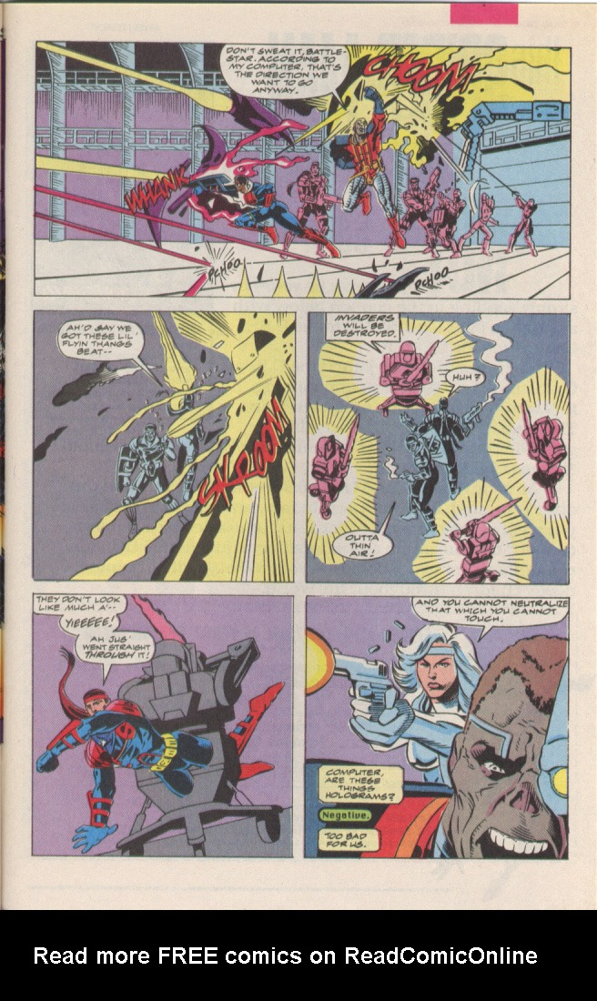 Read online Silver Sable and the Wild Pack comic -  Issue #6 - 19