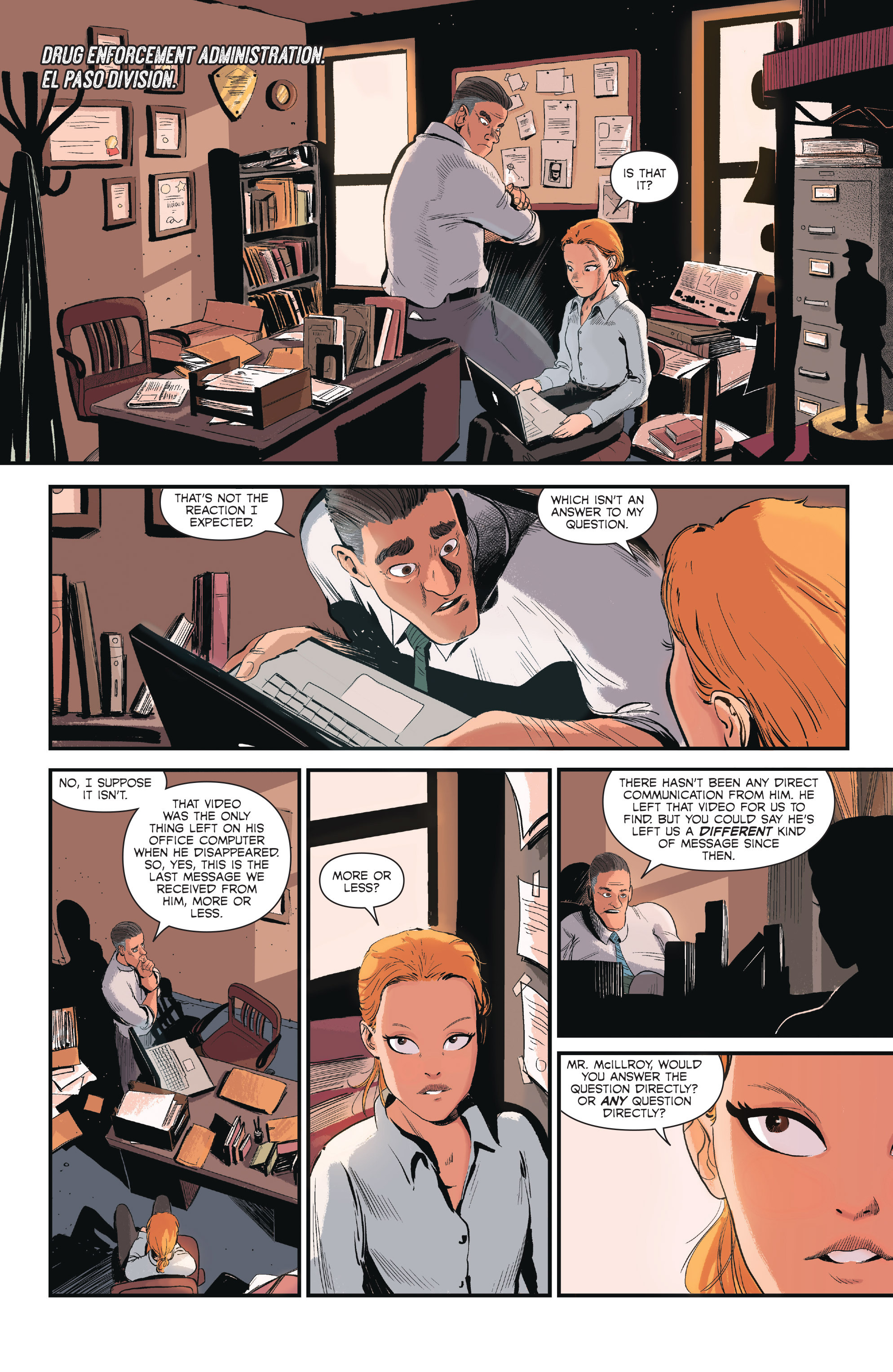 Read online Sombra comic -  Issue #1 - 7