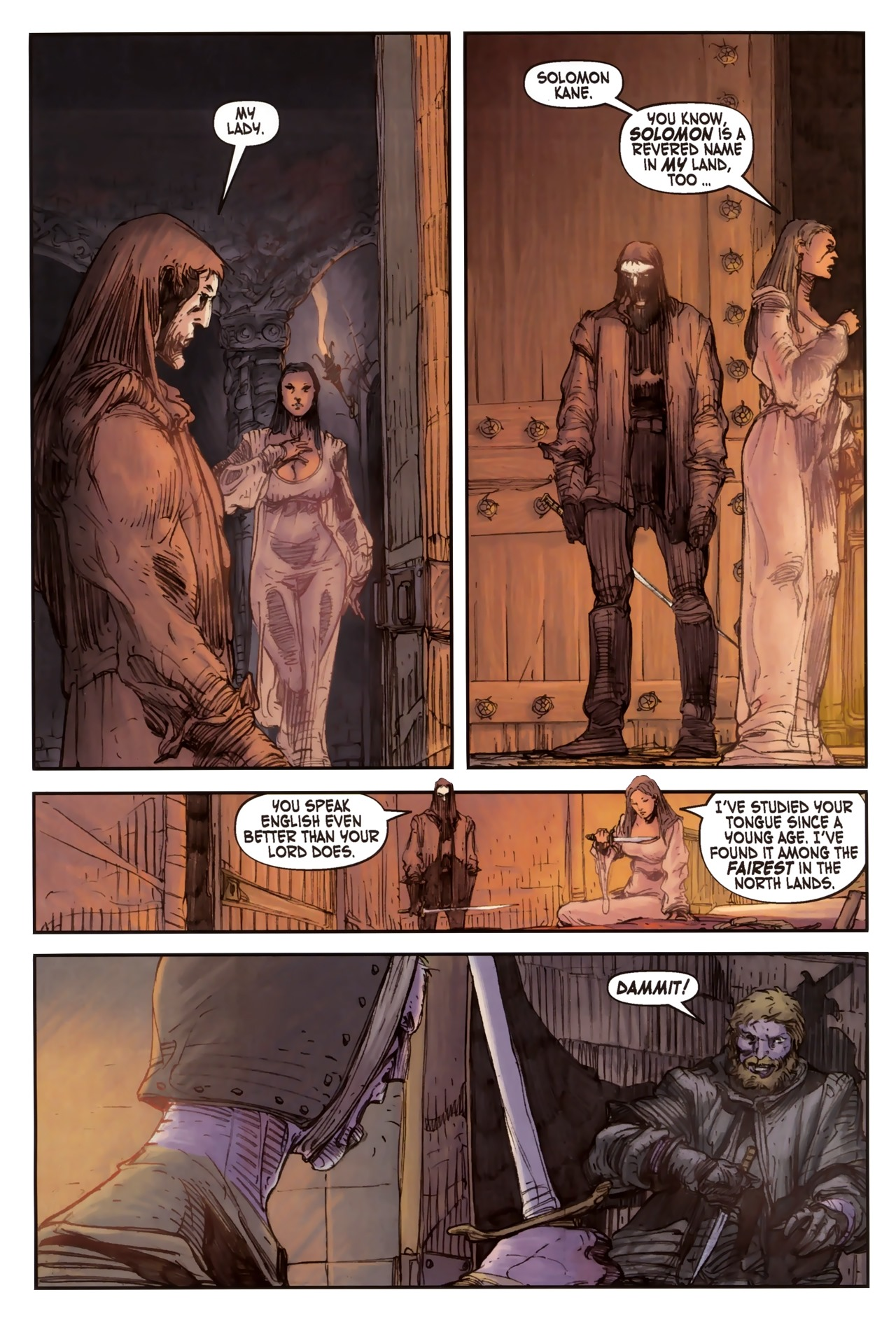 Read online Solomon Kane comic -  Issue #2 - 6