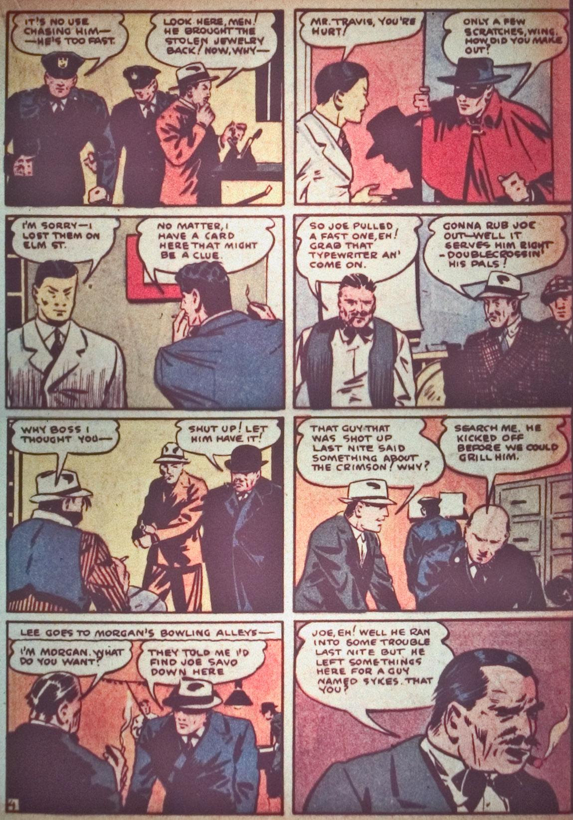 Read online Detective Comics (1937) comic -  Issue #26 - 31