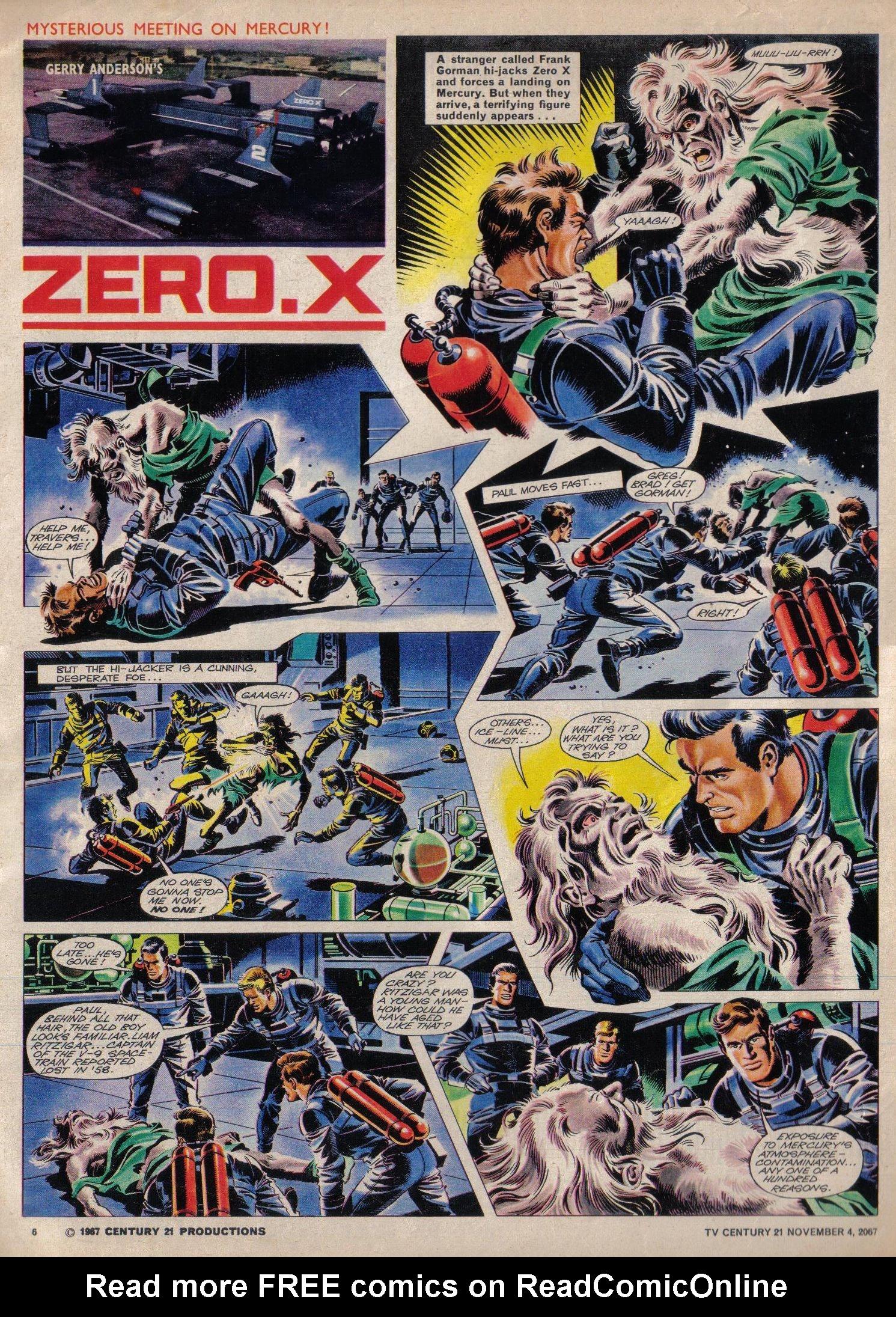 Read online TV Century 21 (TV 21) comic -  Issue #146 - 6