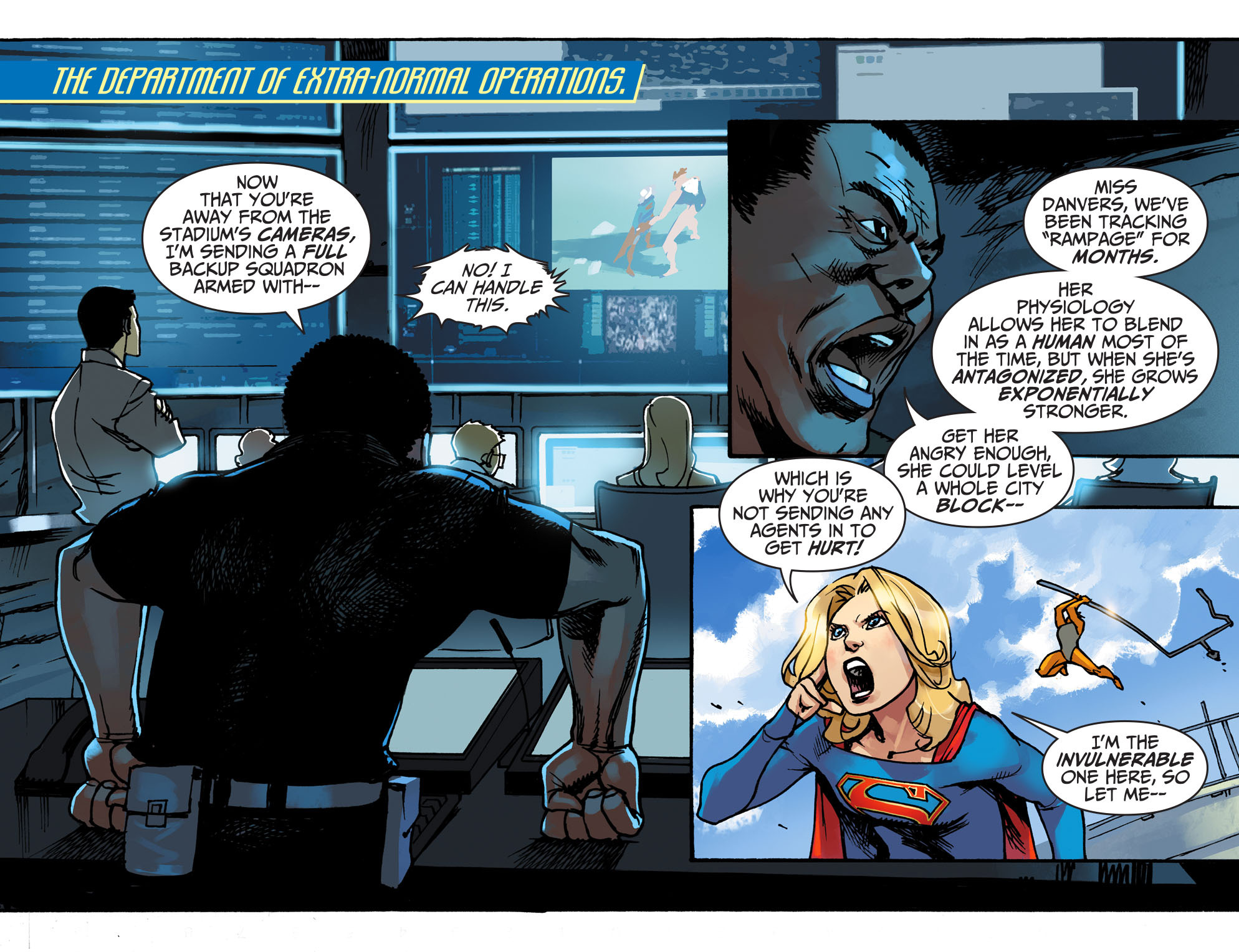 Read online Adventures of Supergirl comic -  Issue #1 - 15