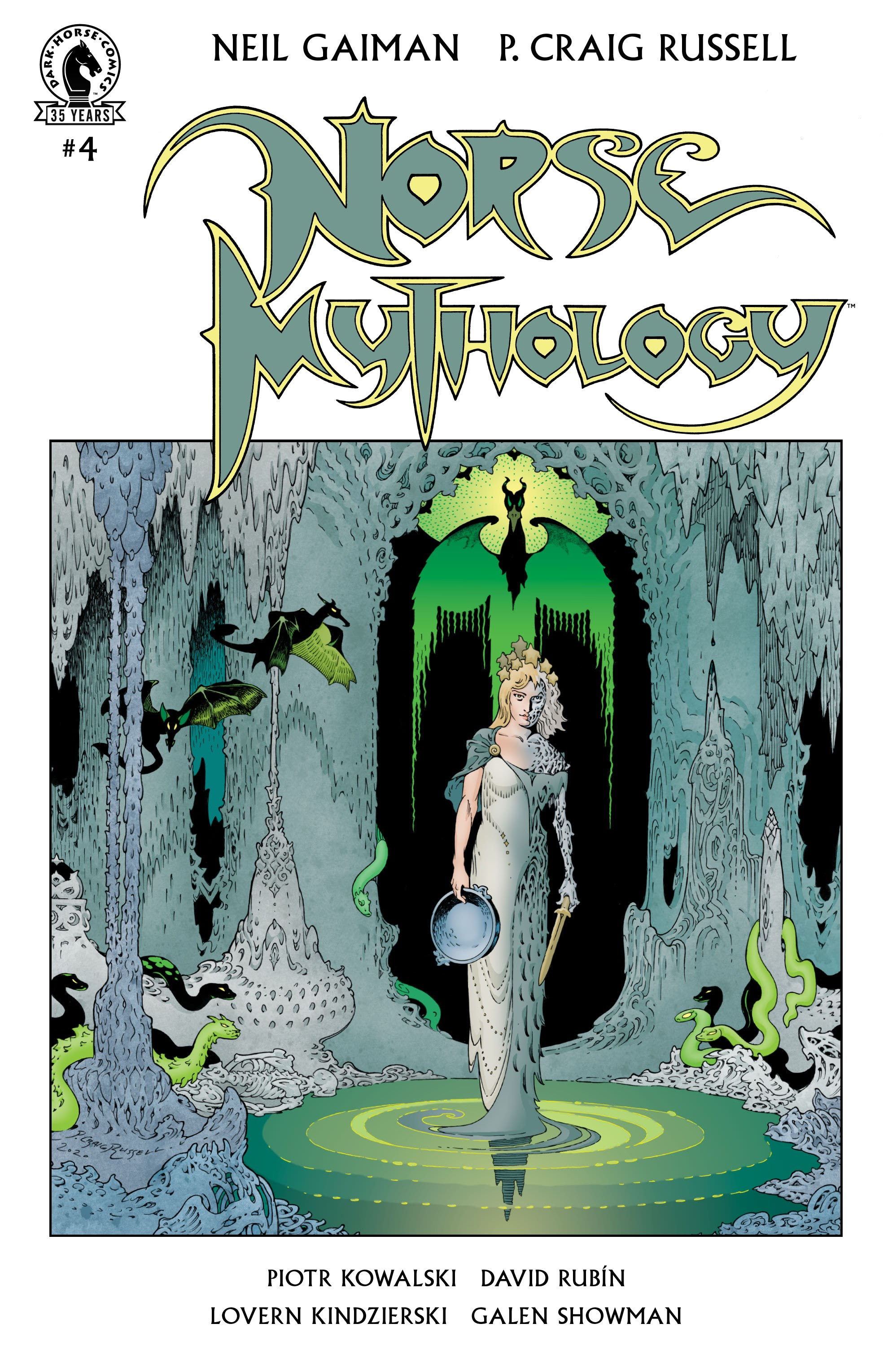 Norse Mythology  4 Page 1