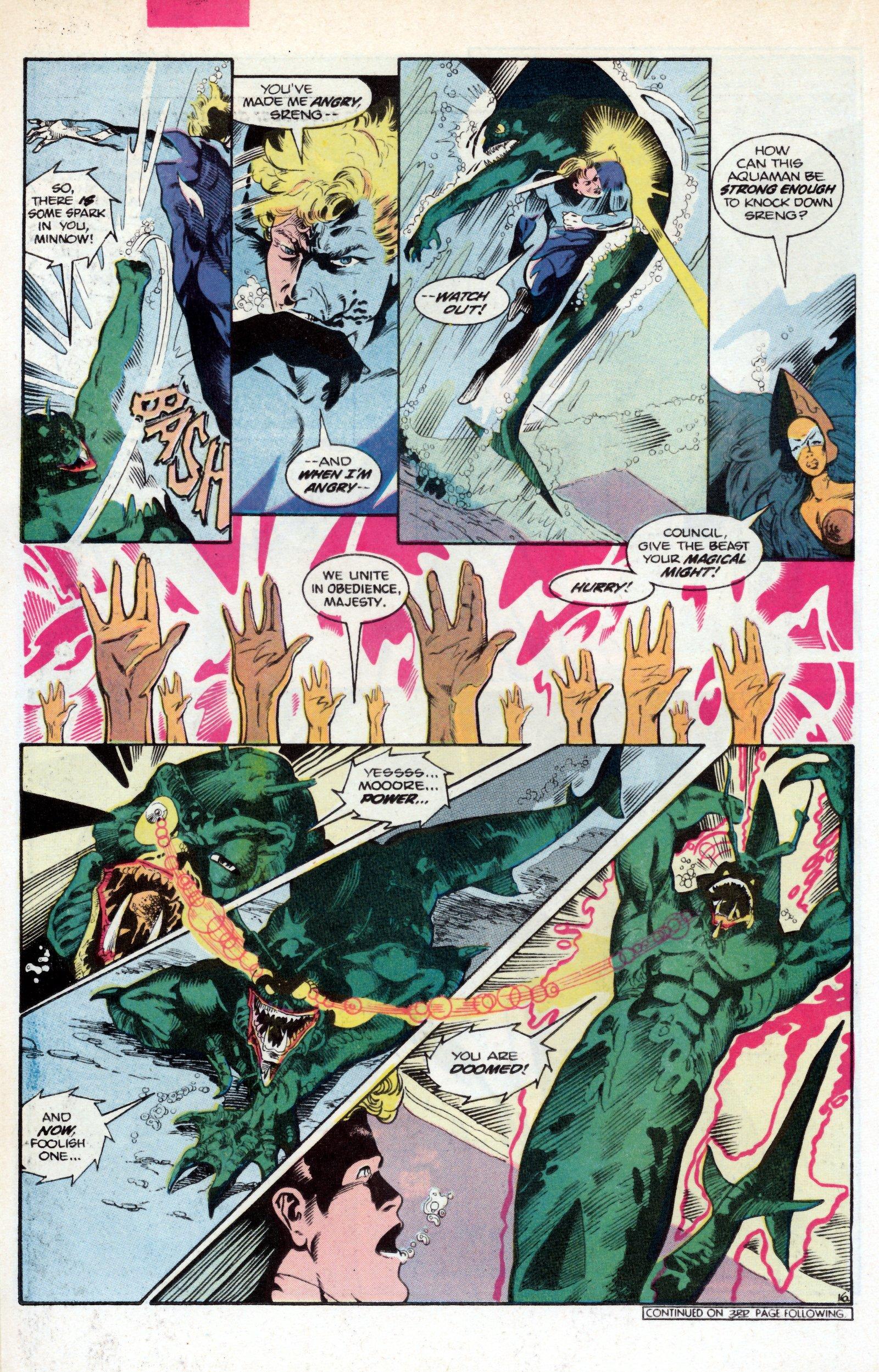 Read online Aquaman (1986) comic -  Issue #2 - 22