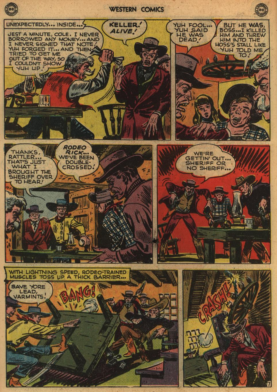Western Comics issue 1 - Page 20