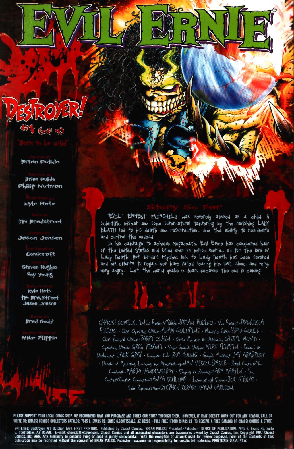 Evil Ernie: Destroyer 1 Page 2
