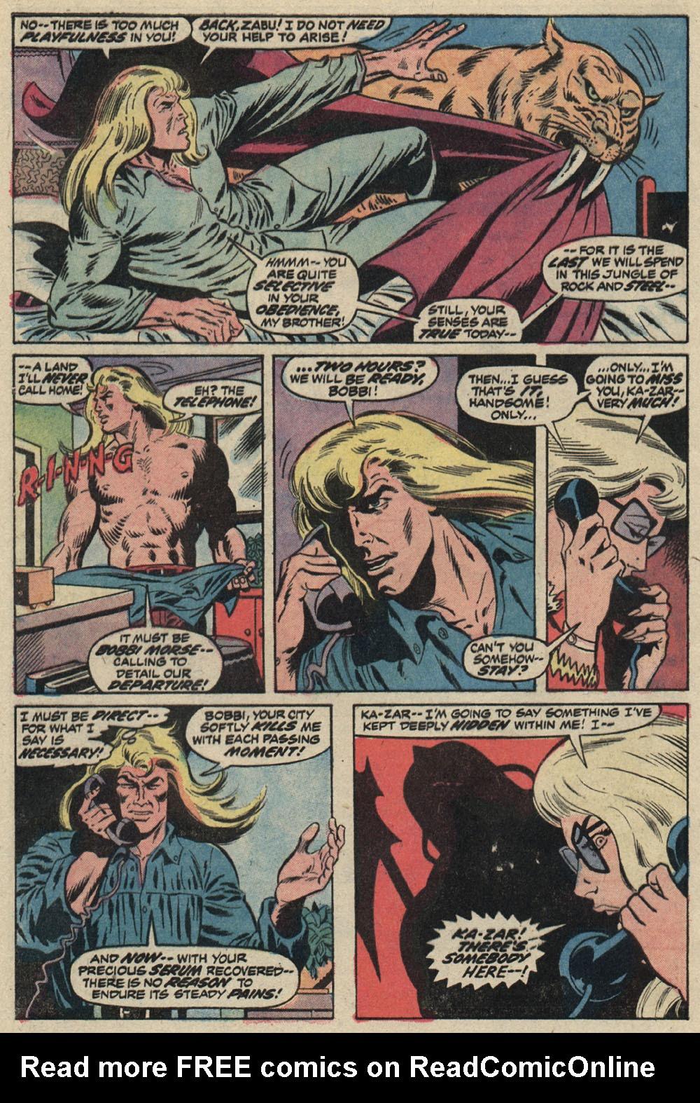 Read online Astonishing Tales (1970) comic -  Issue #19 - 3