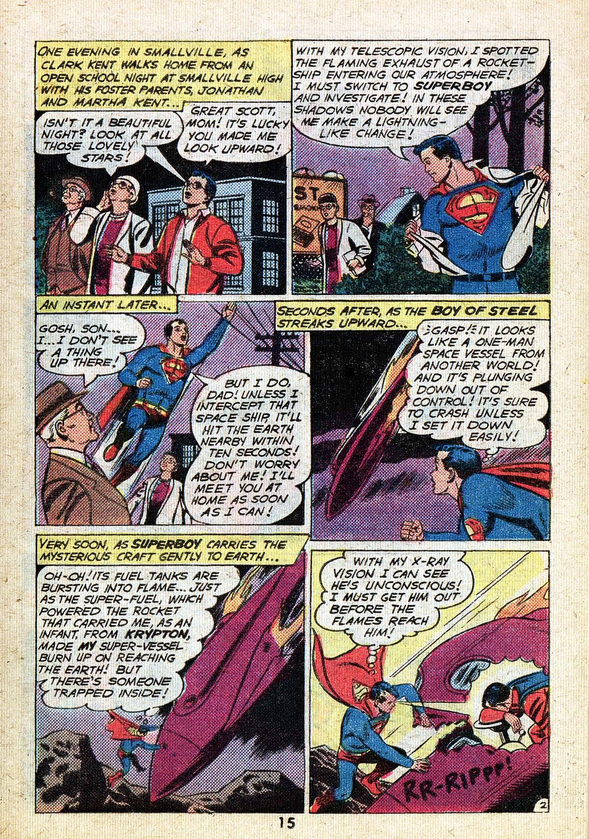 Read online Adventure Comics (1938) comic -  Issue #494 - 15