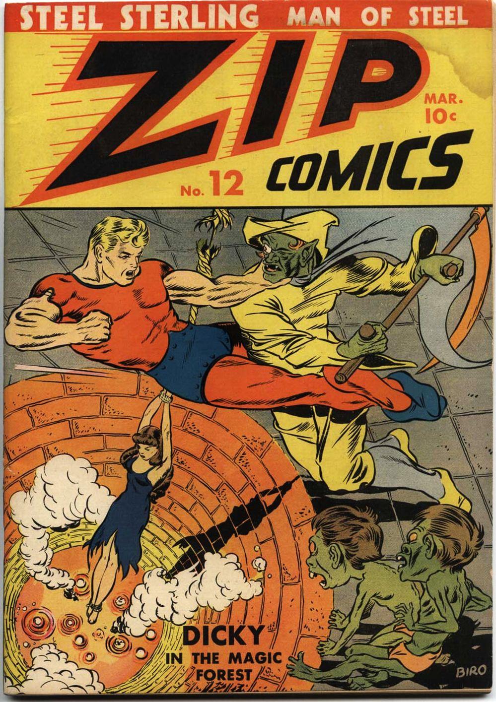 Zip Comics 12 Page 1