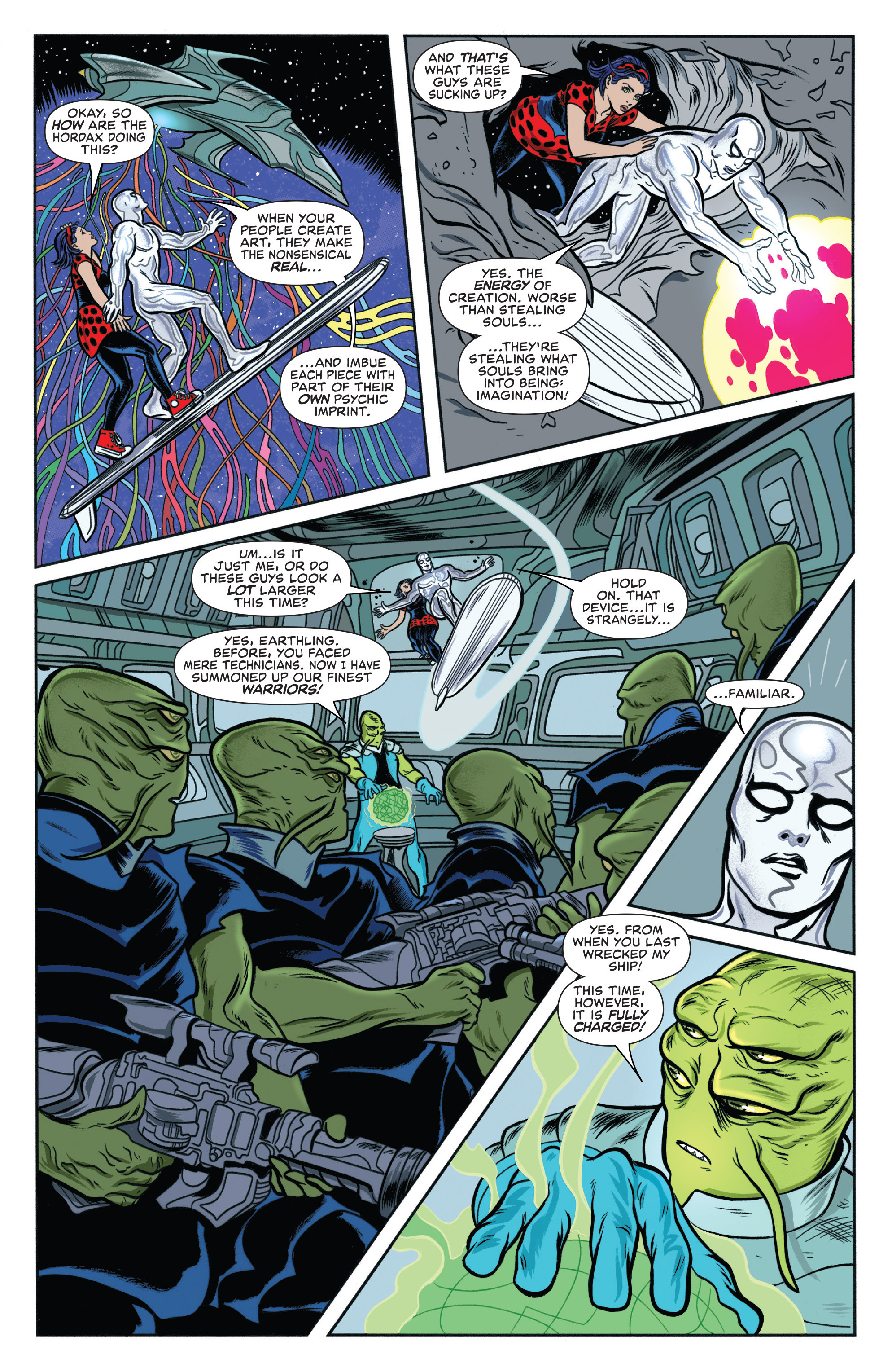 Read online Silver Surfer (2016) comic -  Issue #1 - 13