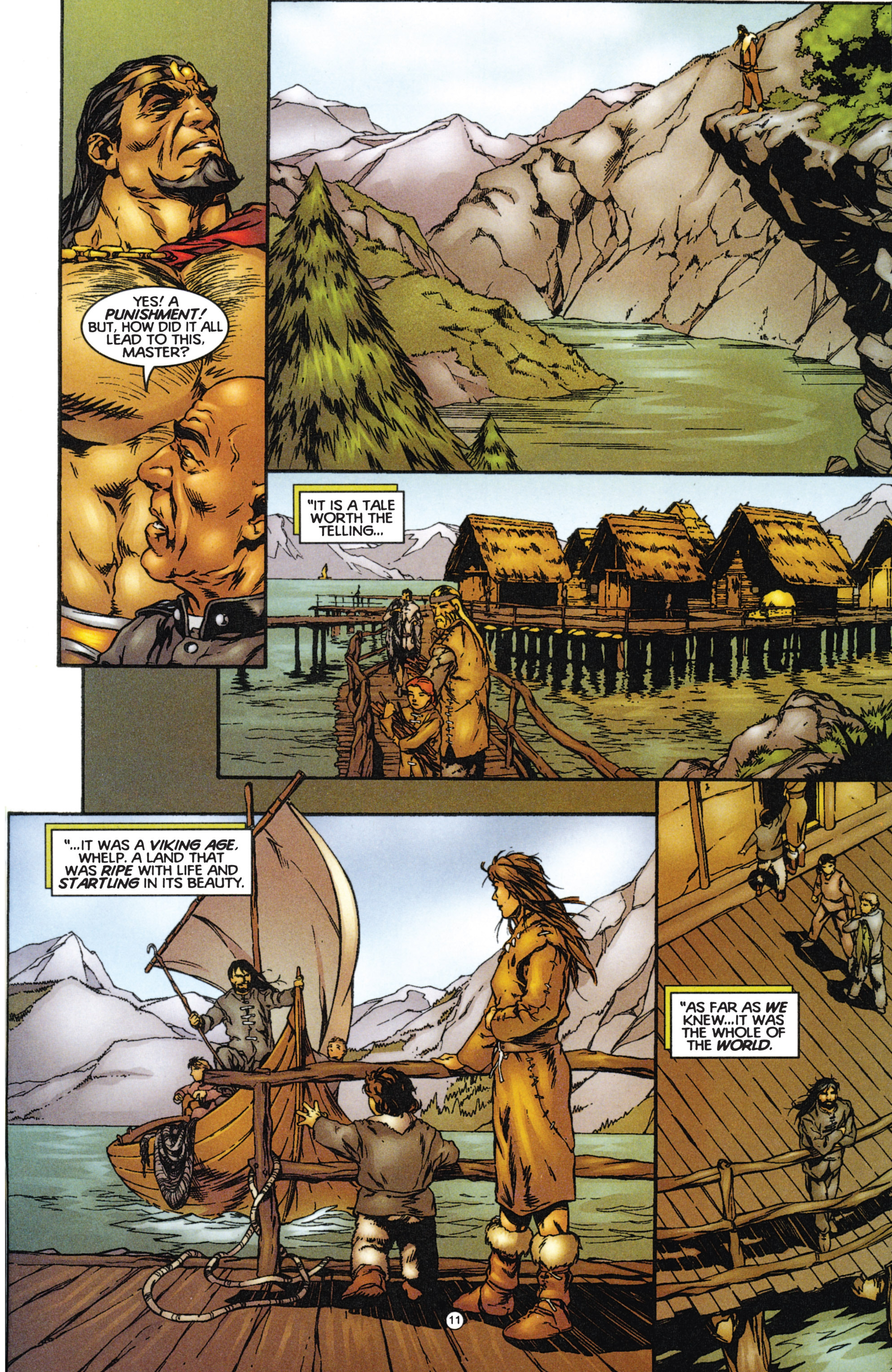 Read online Eternal Warriors comic -  Issue # Issue The Immortal Enemy - 12
