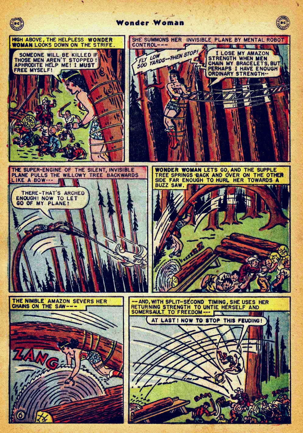 Read online Wonder Woman (1942) comic -  Issue #35 - 43