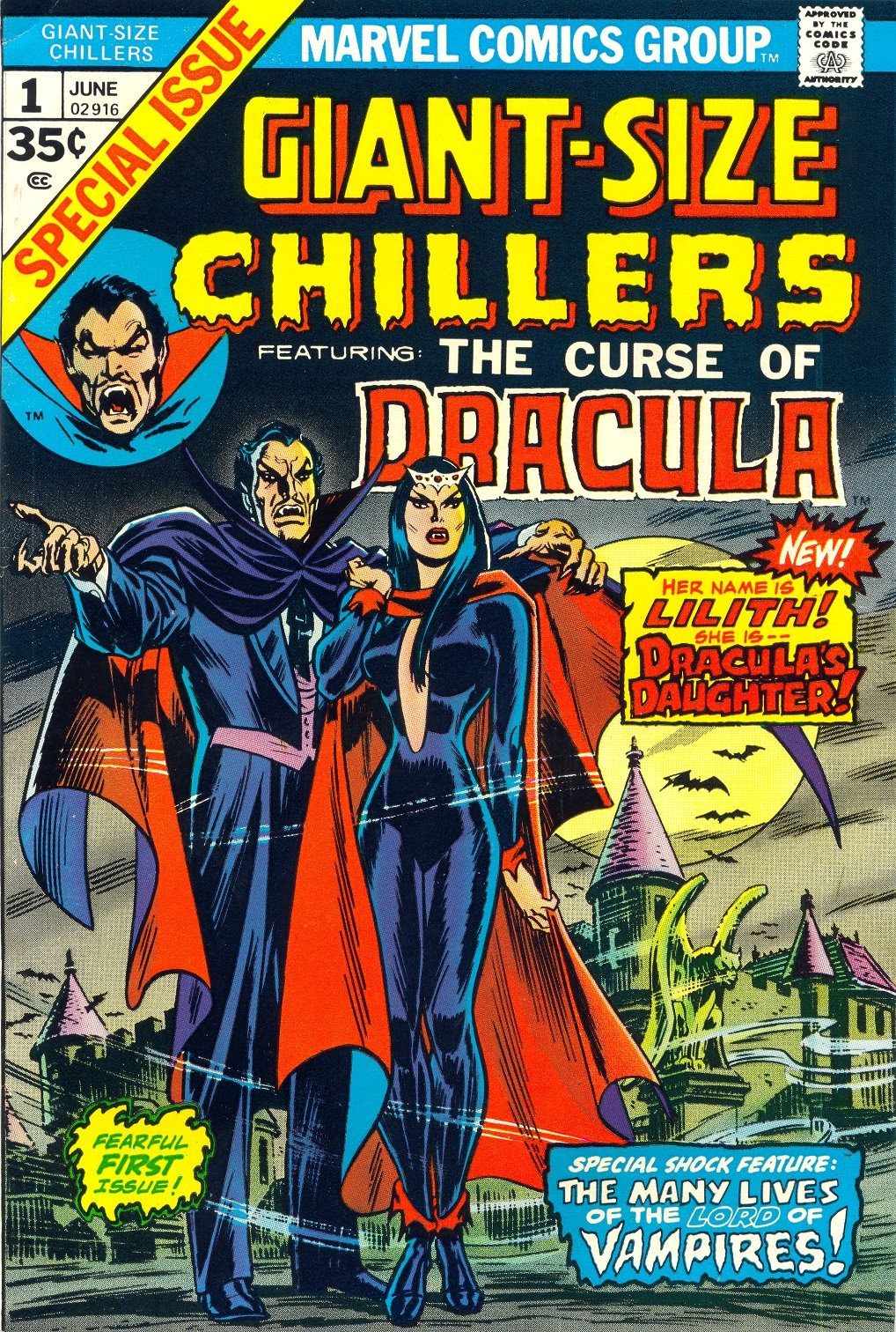 Giant-Size Chillers Featuring Curse of Dracula Full Page 1