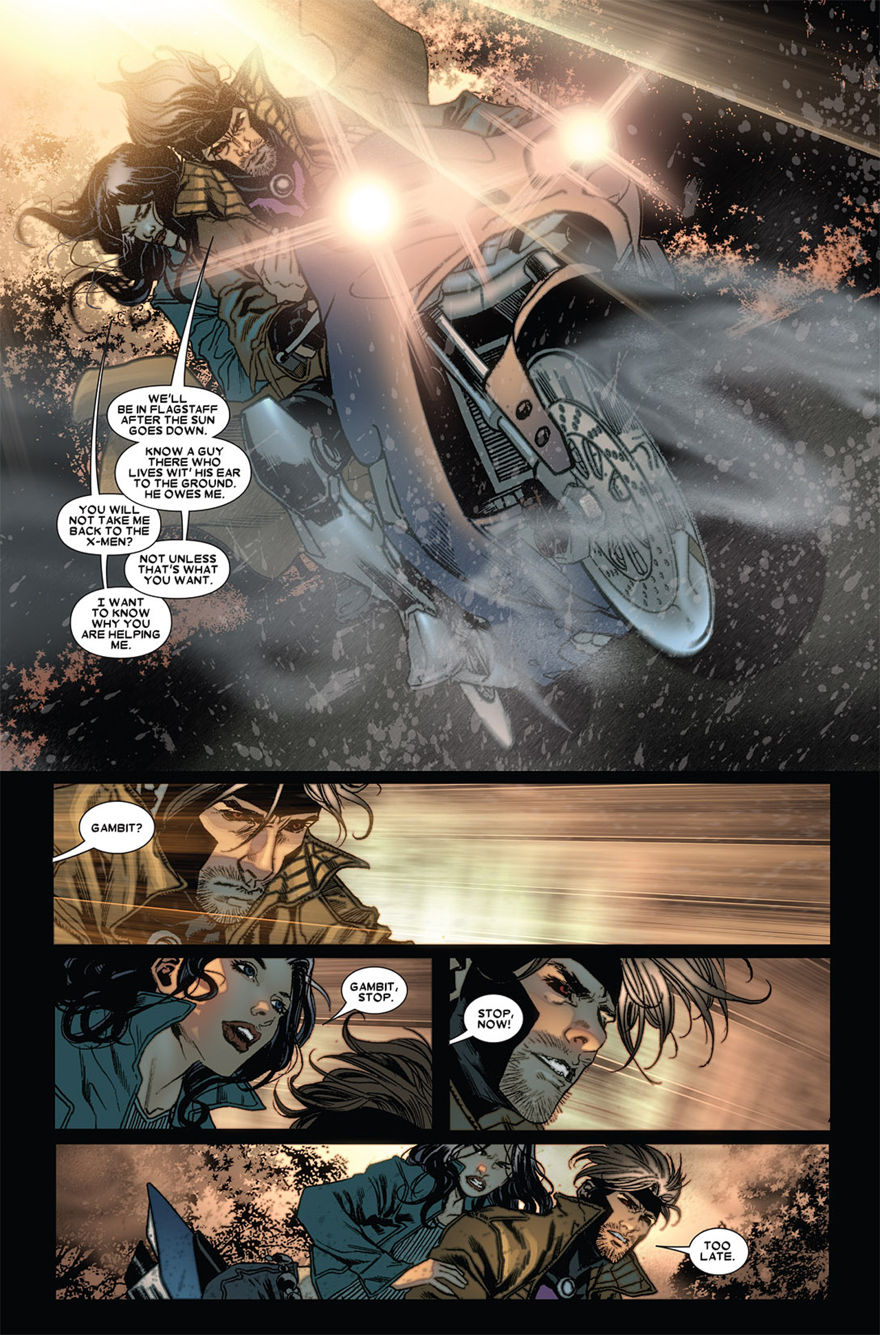 Read online X-23 (2010) comic -  Issue #4 - 19