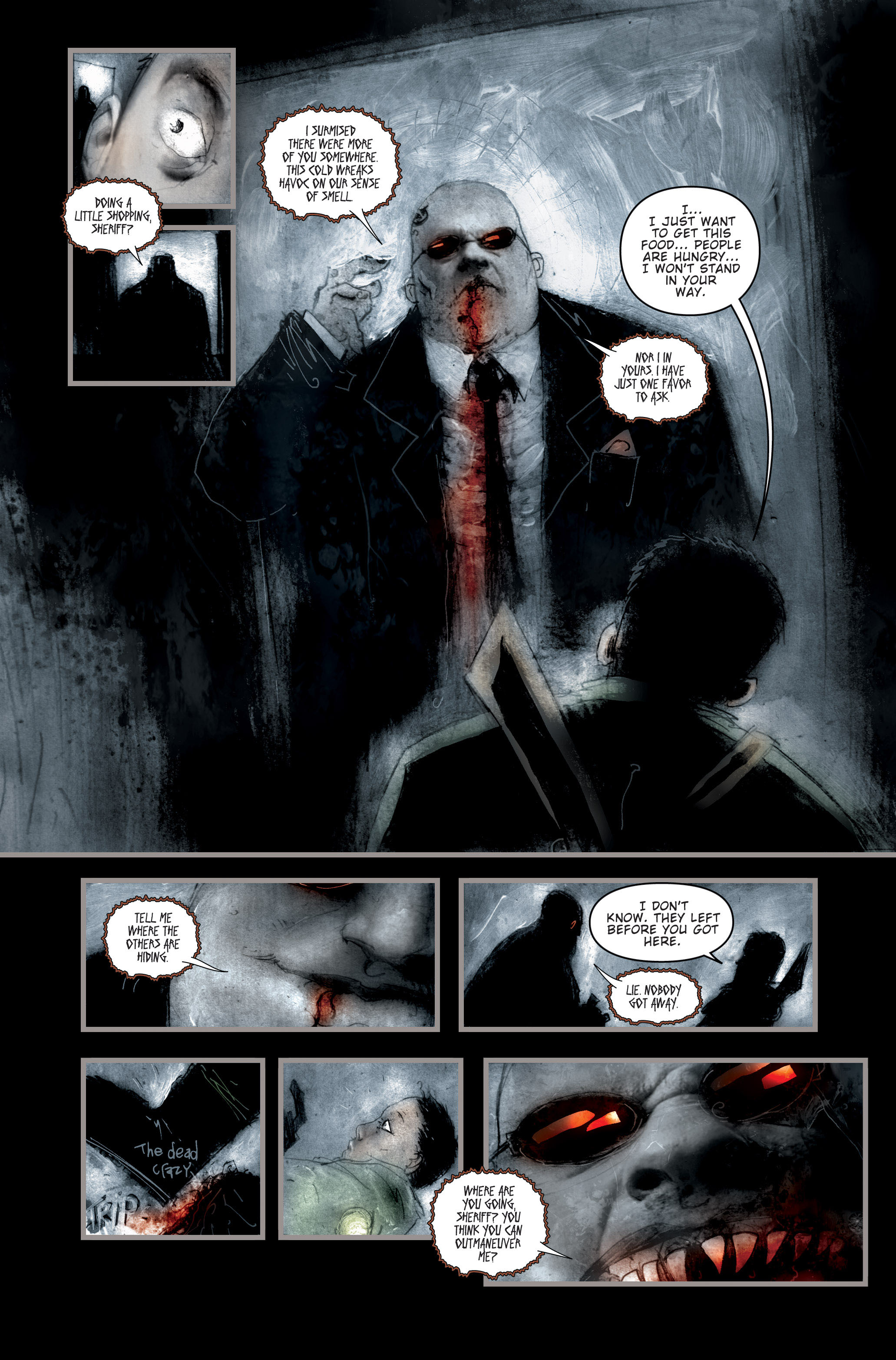 Read online 30 Days of Night (2002) comic -  Issue #2 - 13