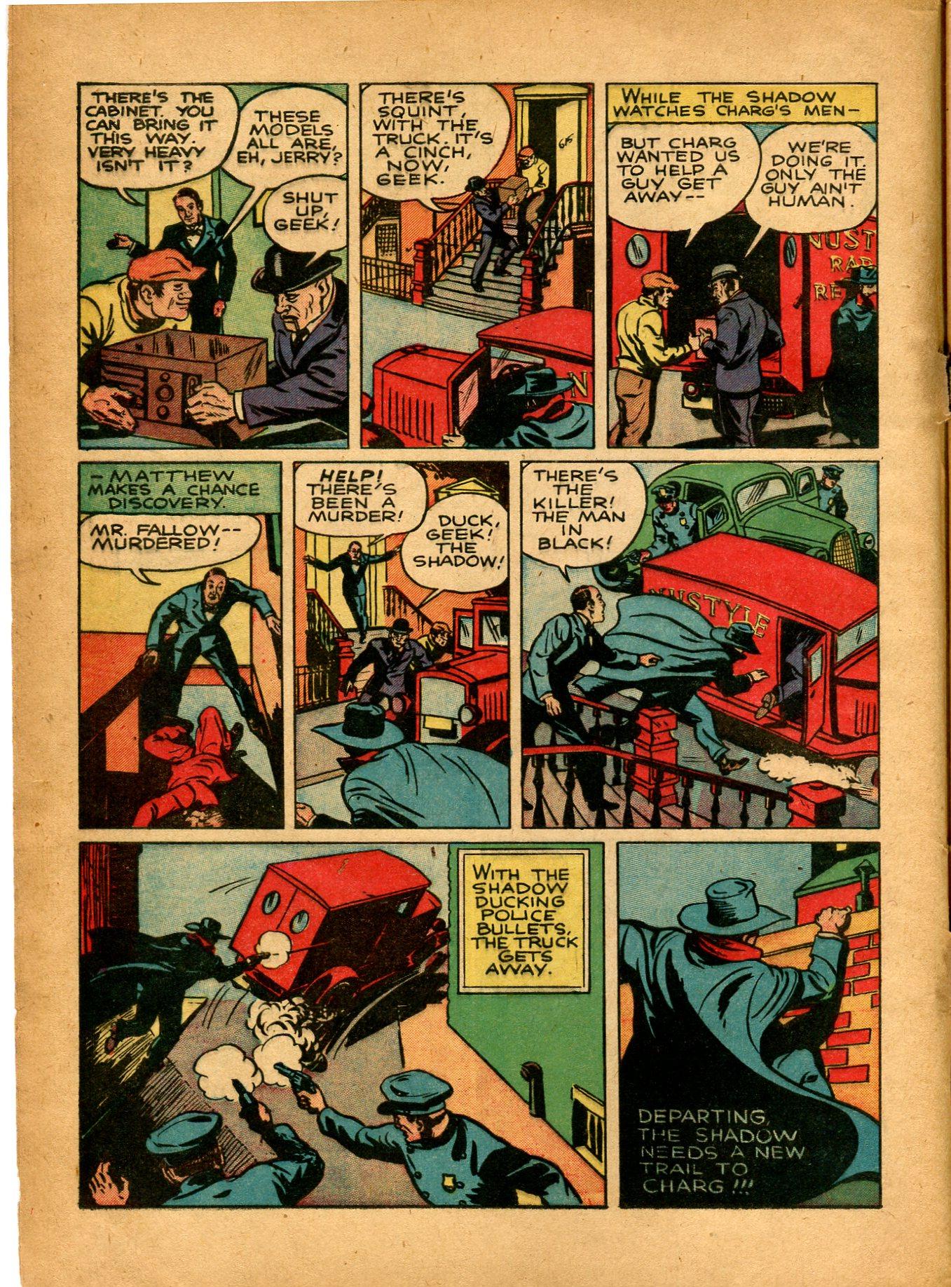 Read online Shadow Comics comic -  Issue #8 - 6