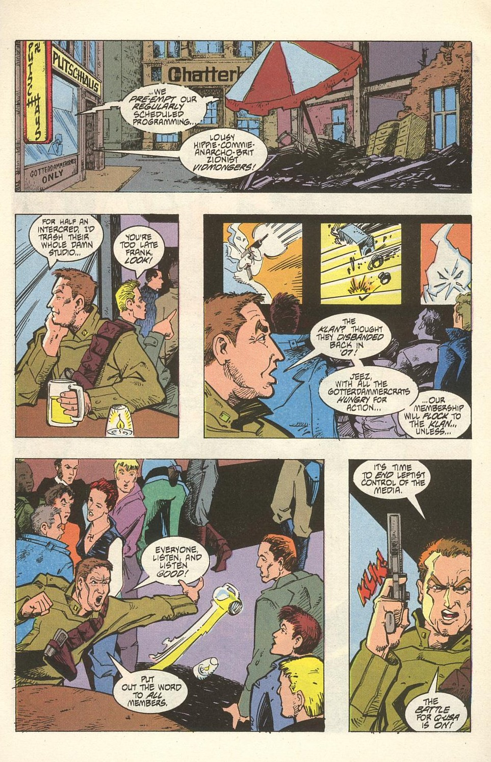 Read online American Flagg! comic -  Issue #32 - 23