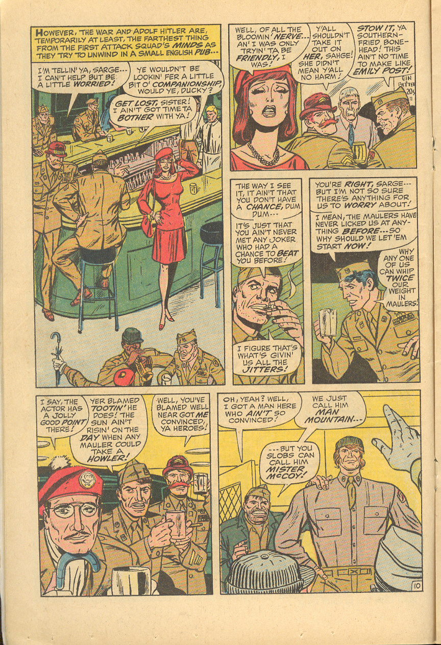 Read online Sgt. Fury comic -  Issue #83 - 16