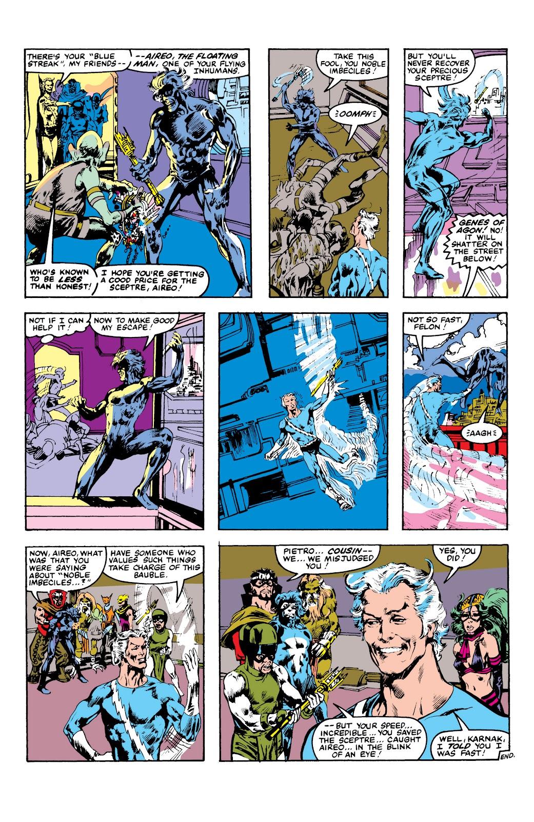 Read online Marvel Masterworks: The Inhumans comic -  Issue # TPB 2 (Part 3) - 113