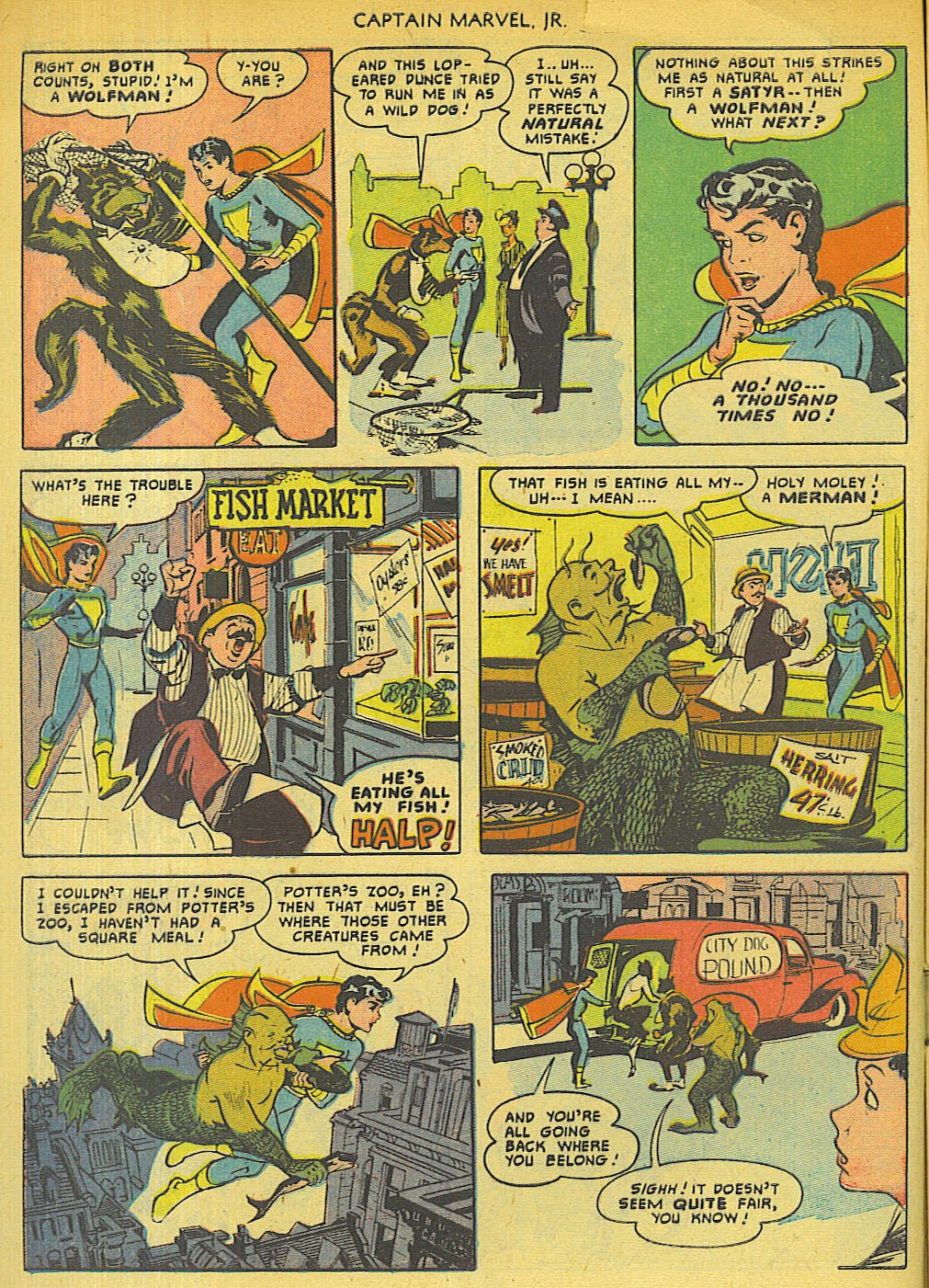 Captain Marvel, Jr. issue 96 - Page 20