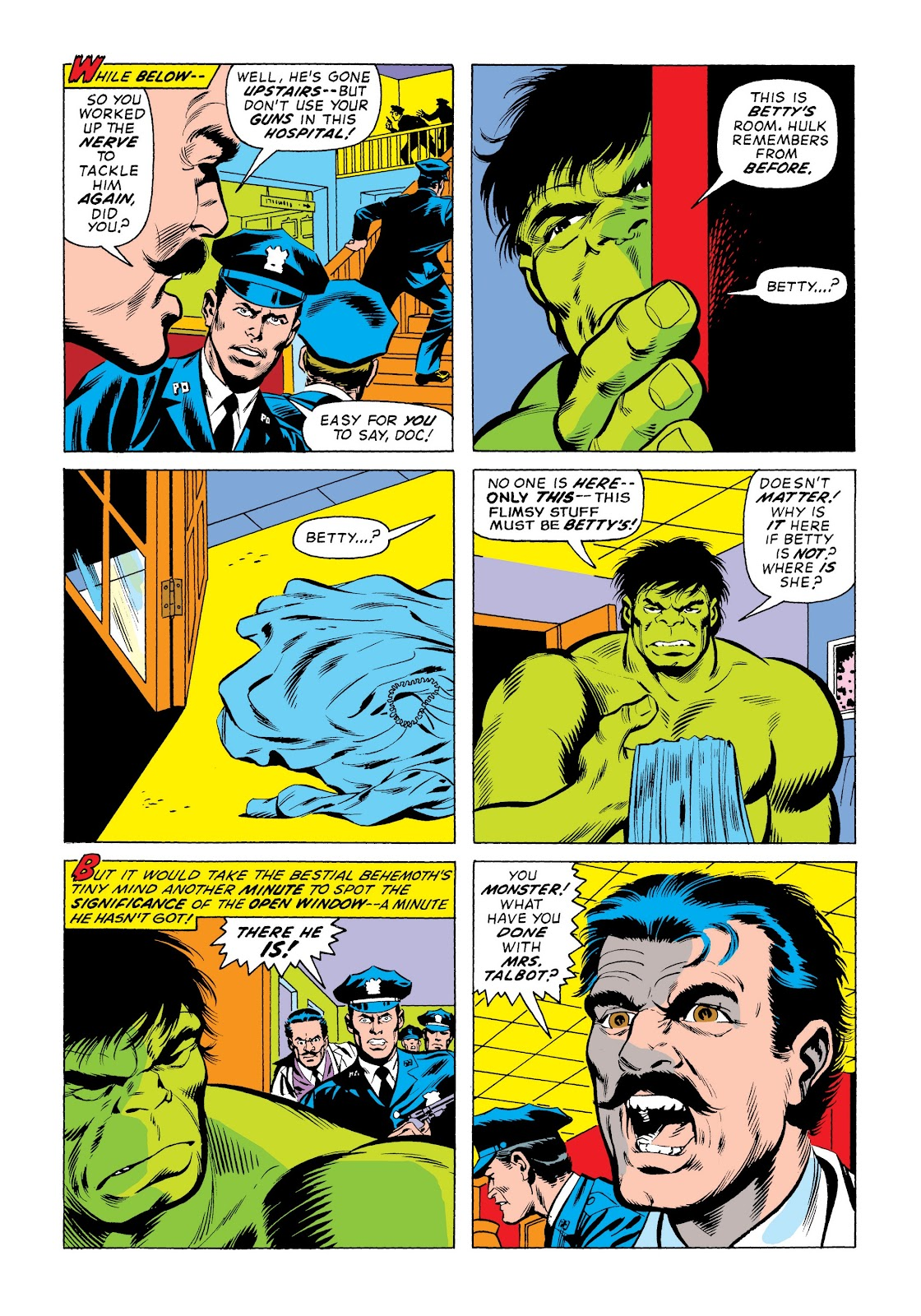 Read online Marvel Masterworks: The Incredible Hulk comic -  Issue # TPB 9 (Part 3) - 40