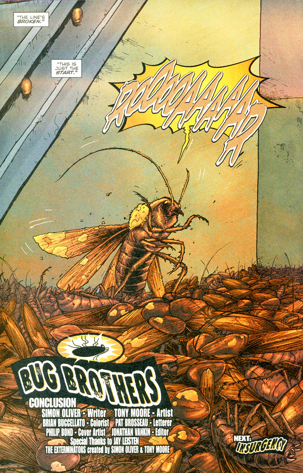 Read online The Exterminators comic -  Issue #5 - 23