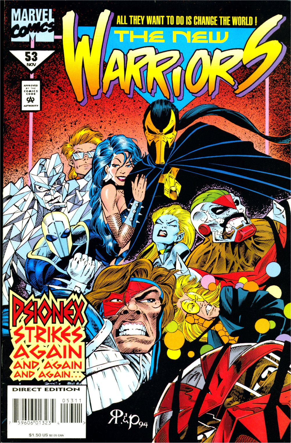 The New Warriors Issue #53 #57 - English 1