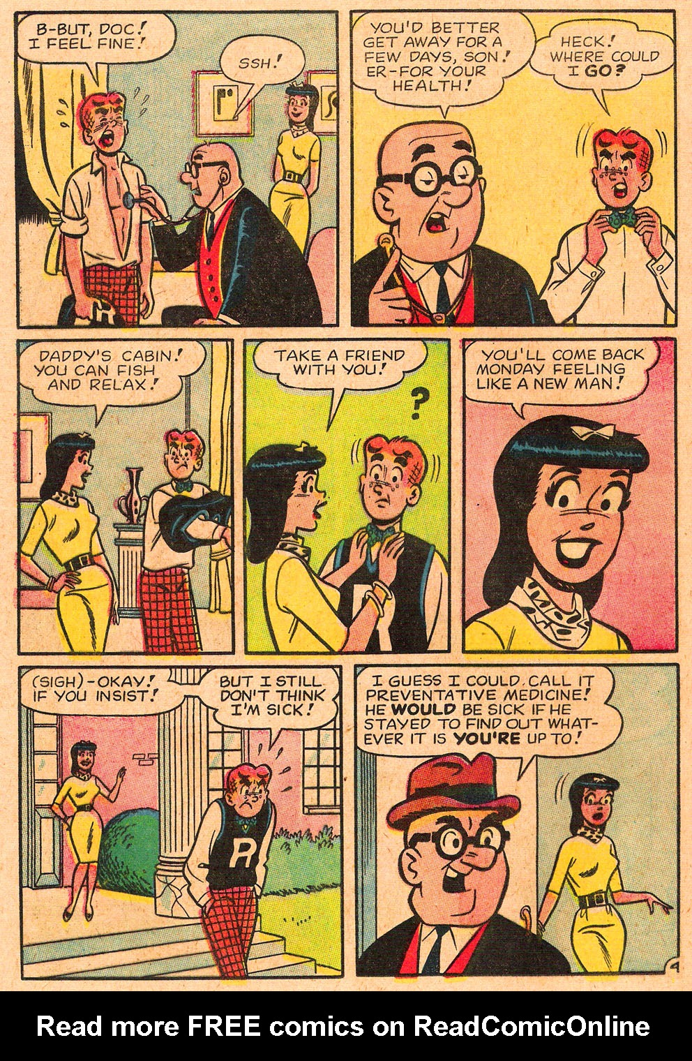 Read online Archie's Girls Betty and Veronica comic -  Issue #85 - 32