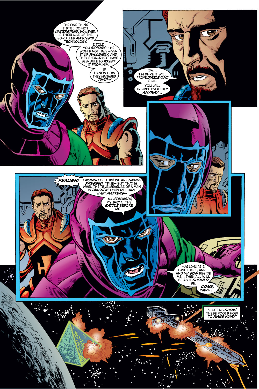 Read online Avengers (1998) comic -  Issue #53 - 11