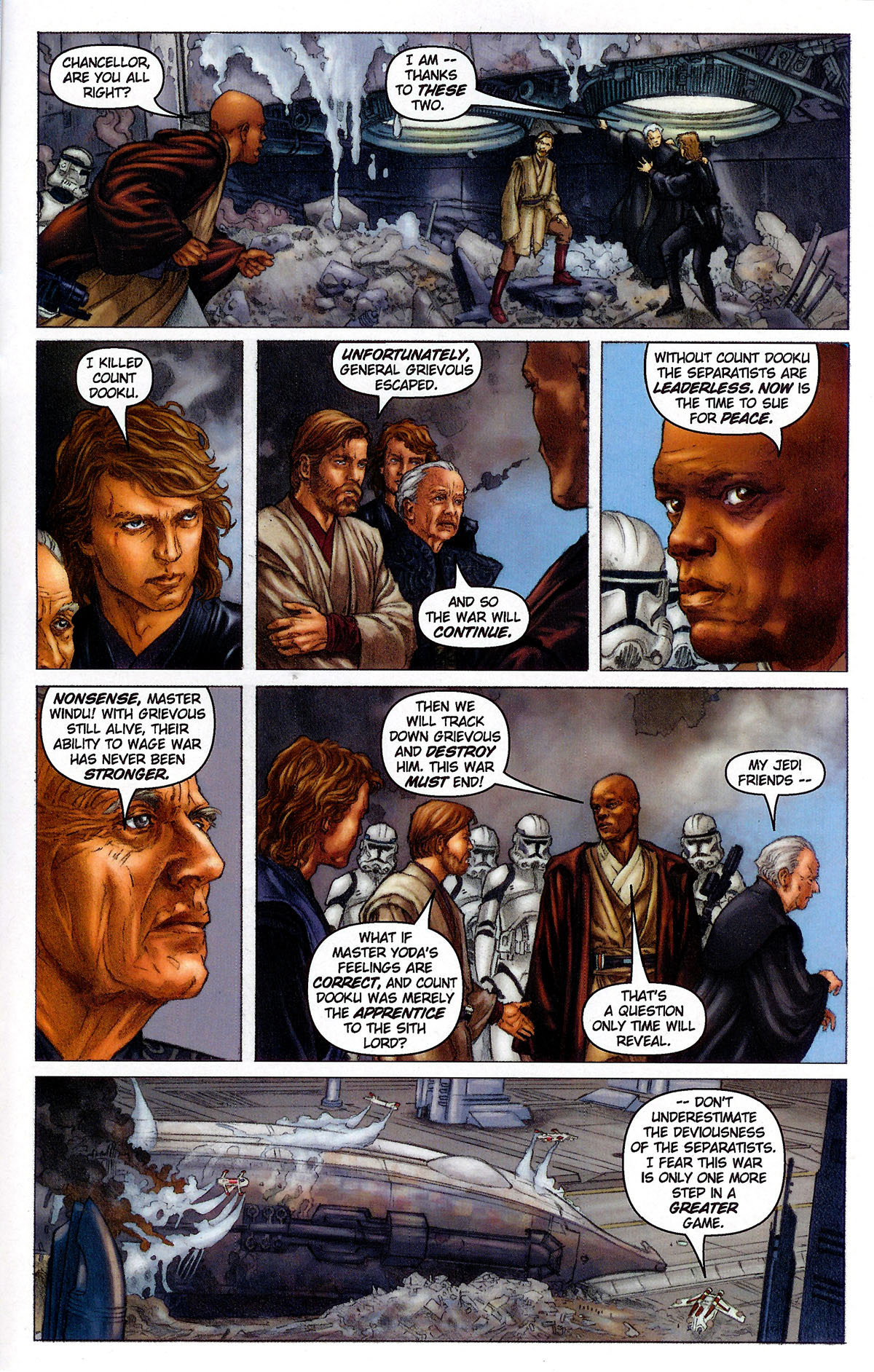 Star Wars Episode Iii Revenge Of The Sith 2005 1 Read Star Wars Episode Iii Revenge Of The Sith 2005 Issue 1 Page 21